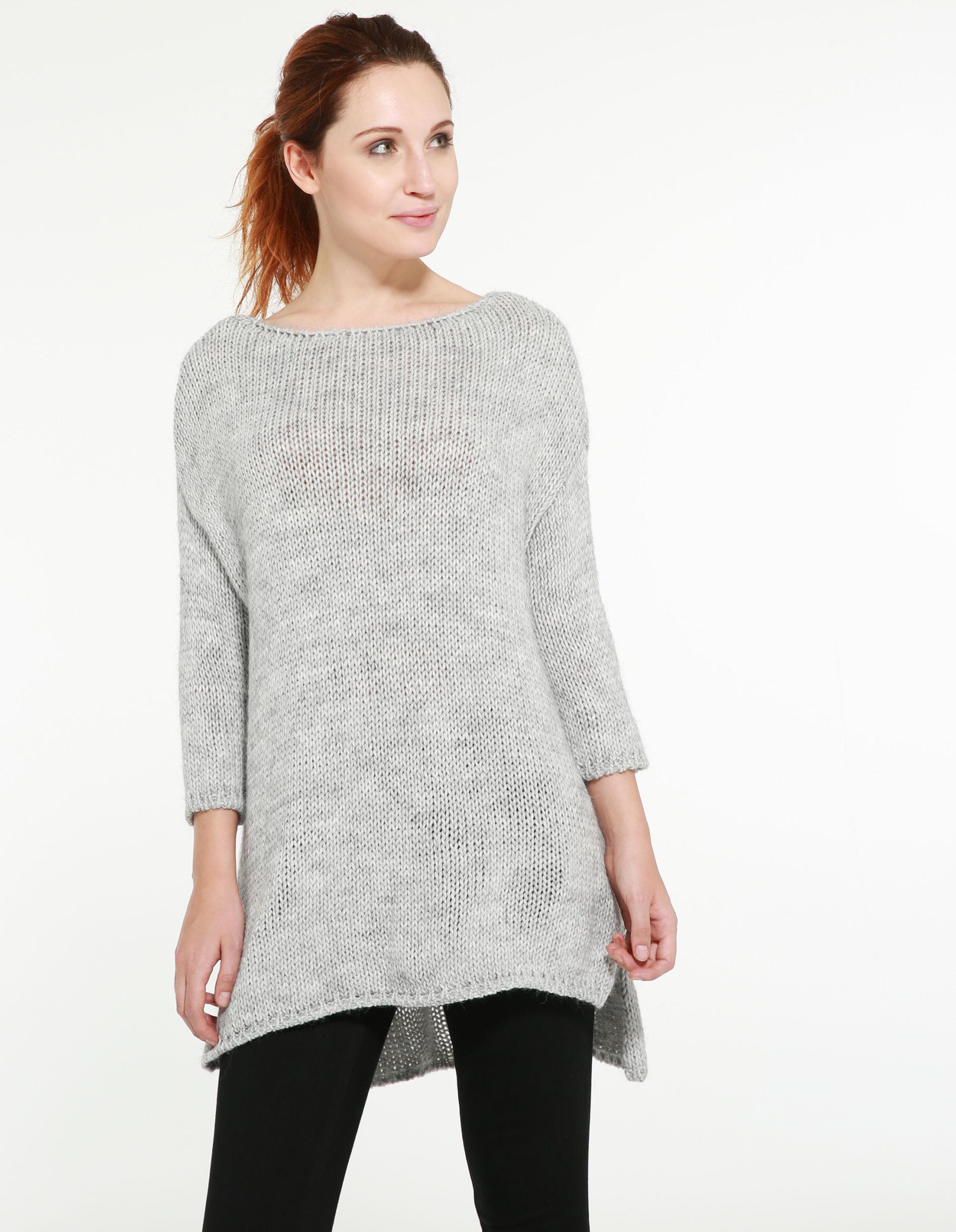 Sweter - 29-7718 GR CH - Unisono