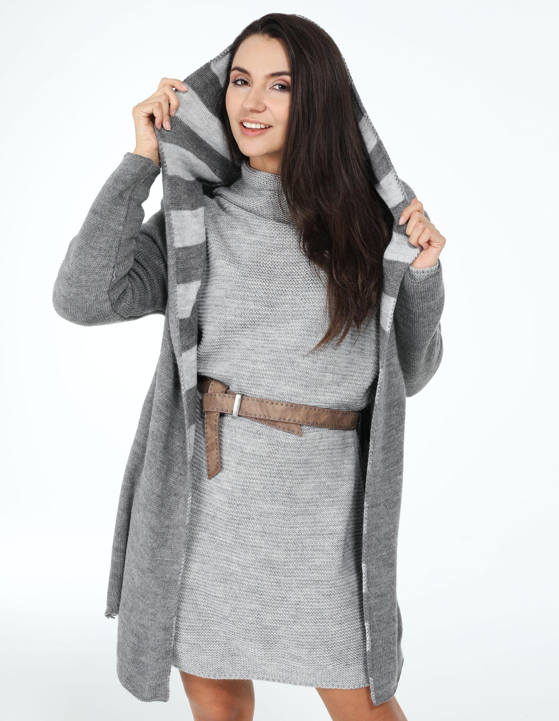 Sweter - 153-903 GRI01 - Unisono