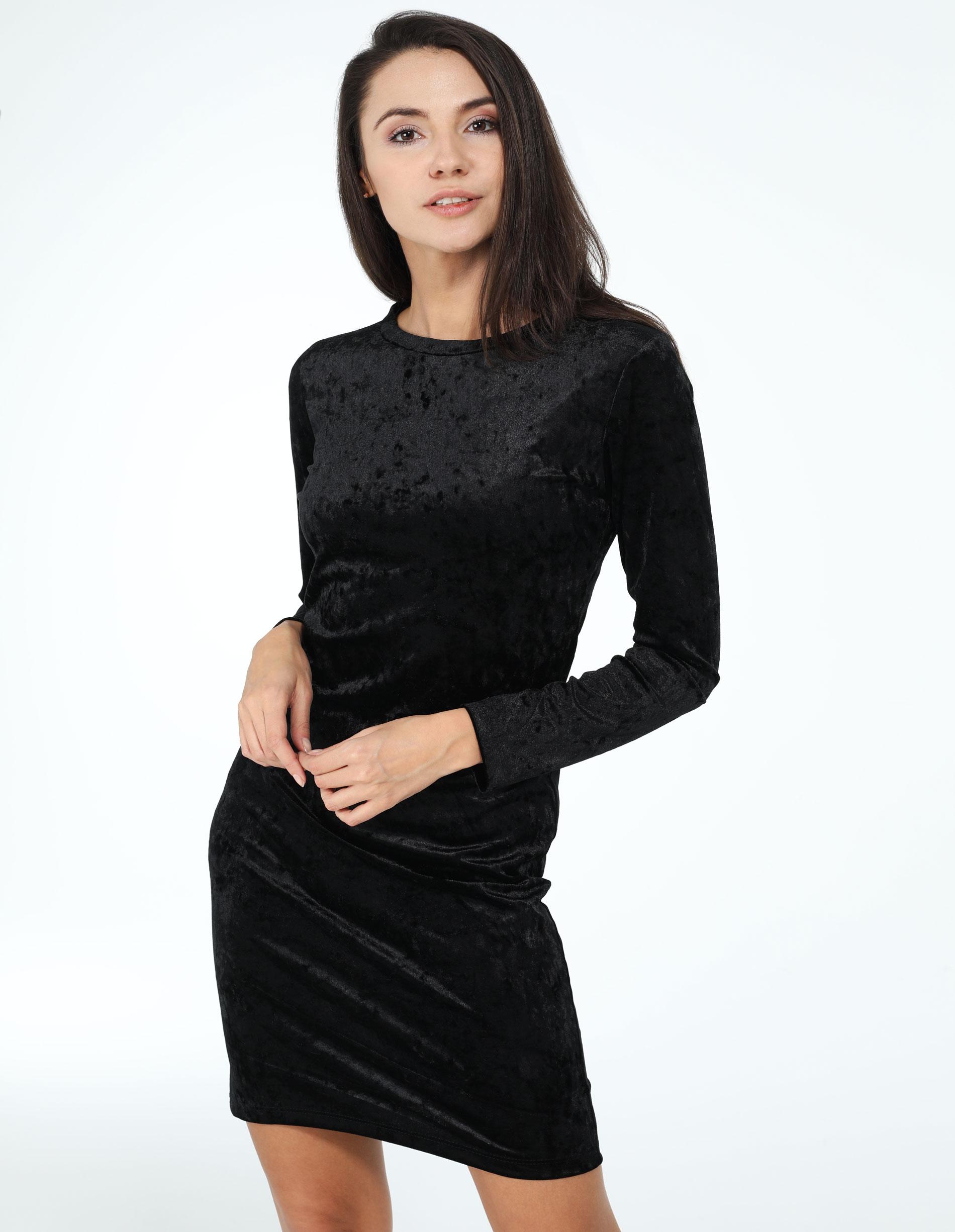 Sukienka - 31-100 NERO - Unisono