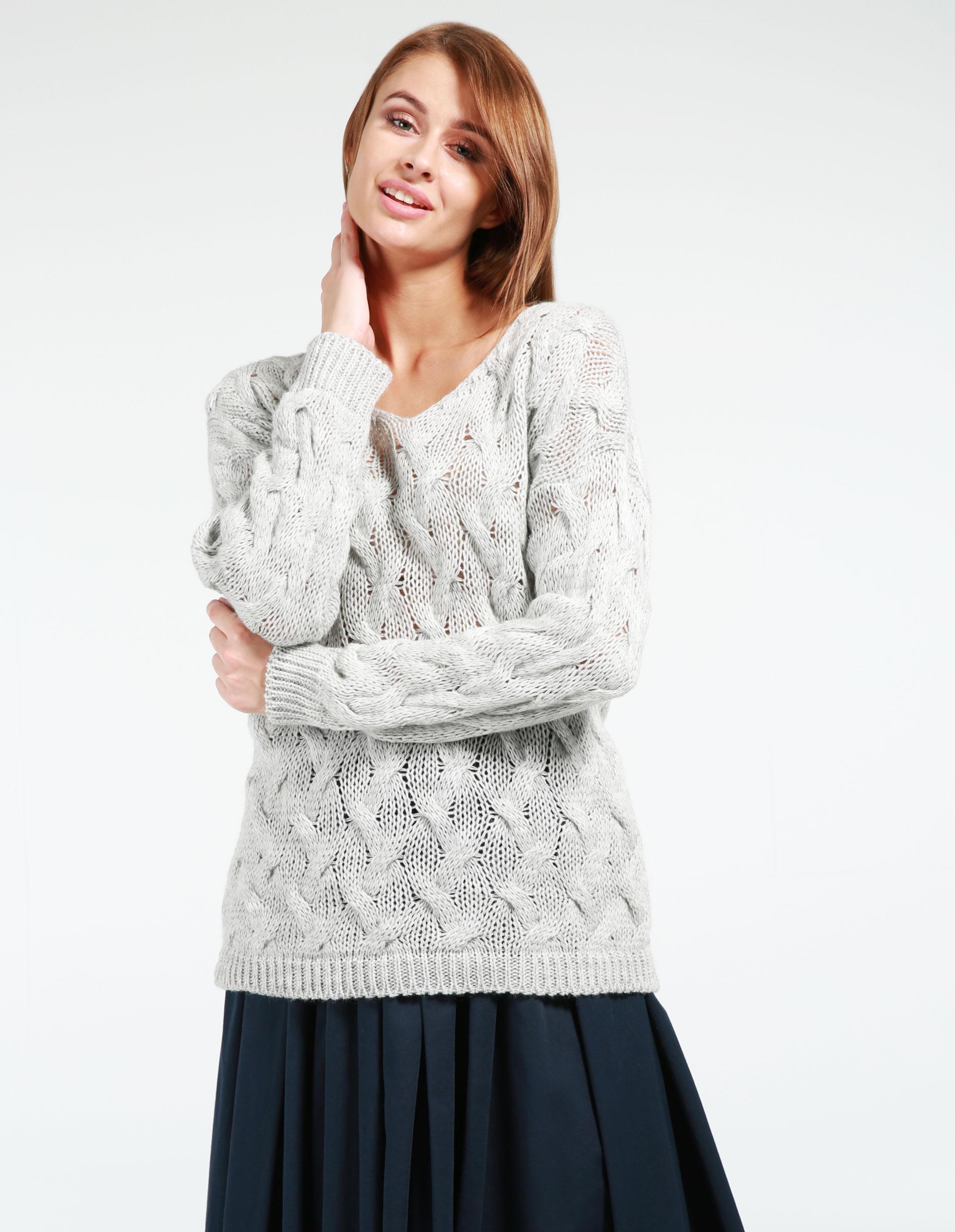 Sweter - 5115A GRI CHI - Unisono