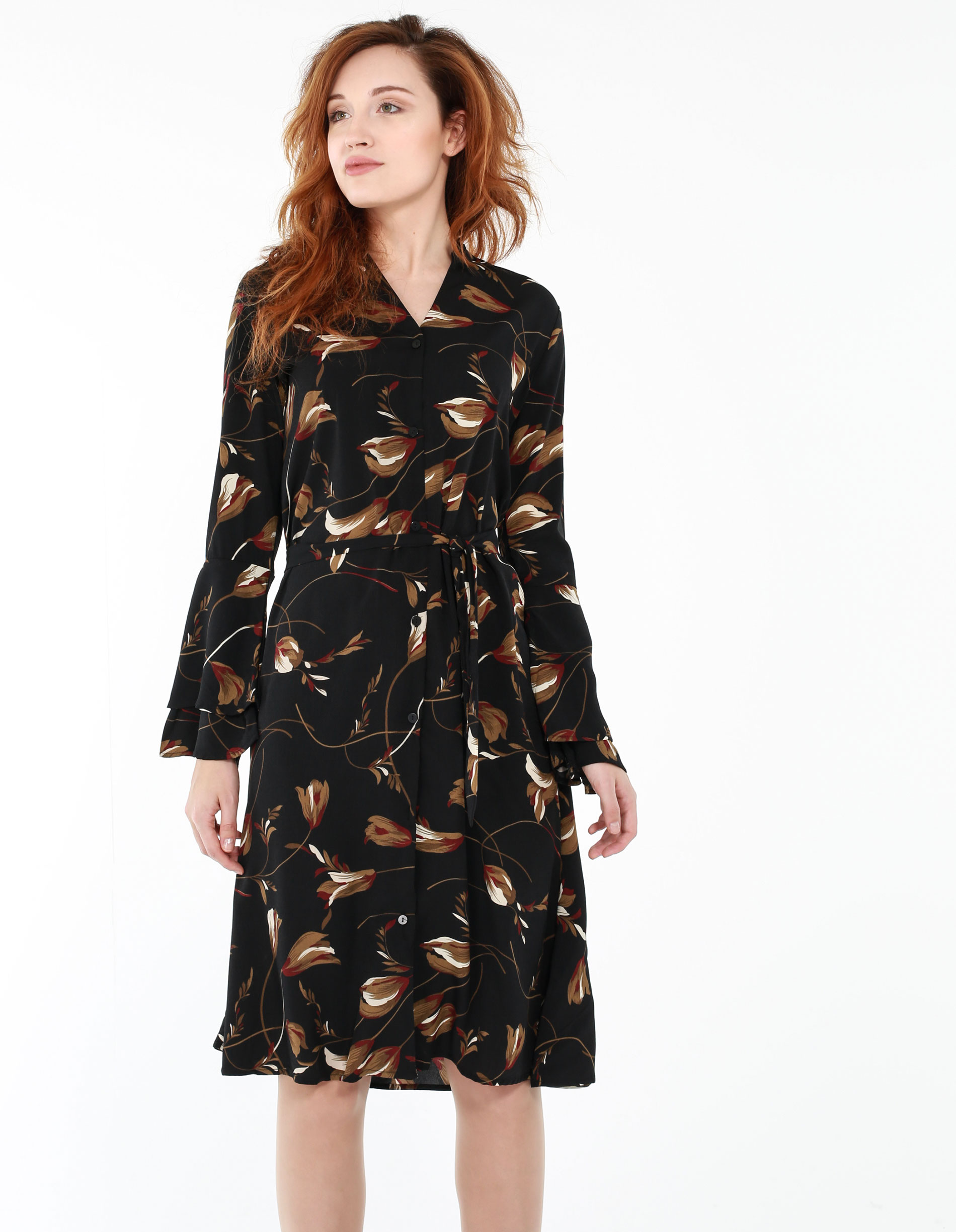 Sukienka - 134-2776 NERO - Unisono