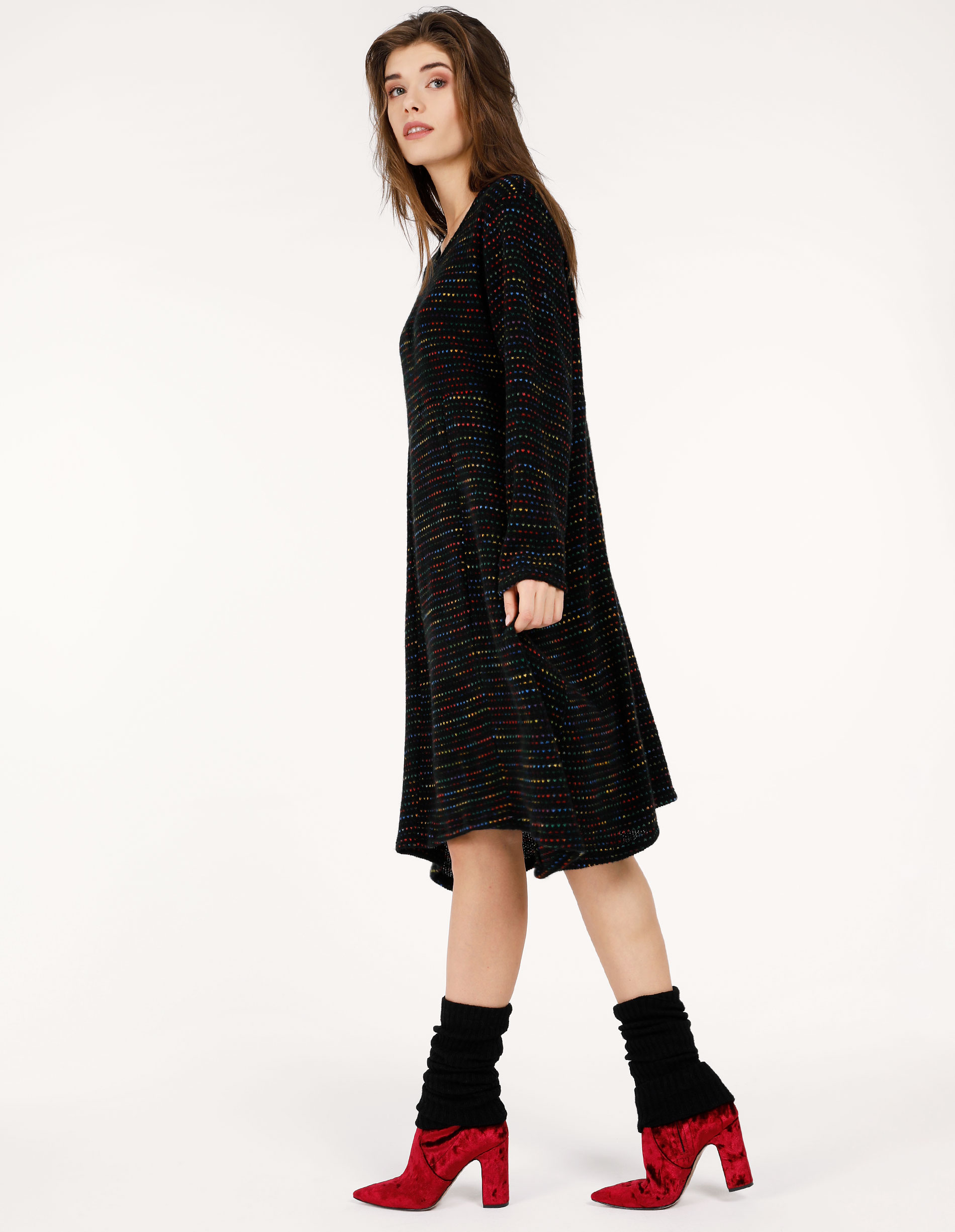 Sukienka - 142-17880 NER - Unisono
