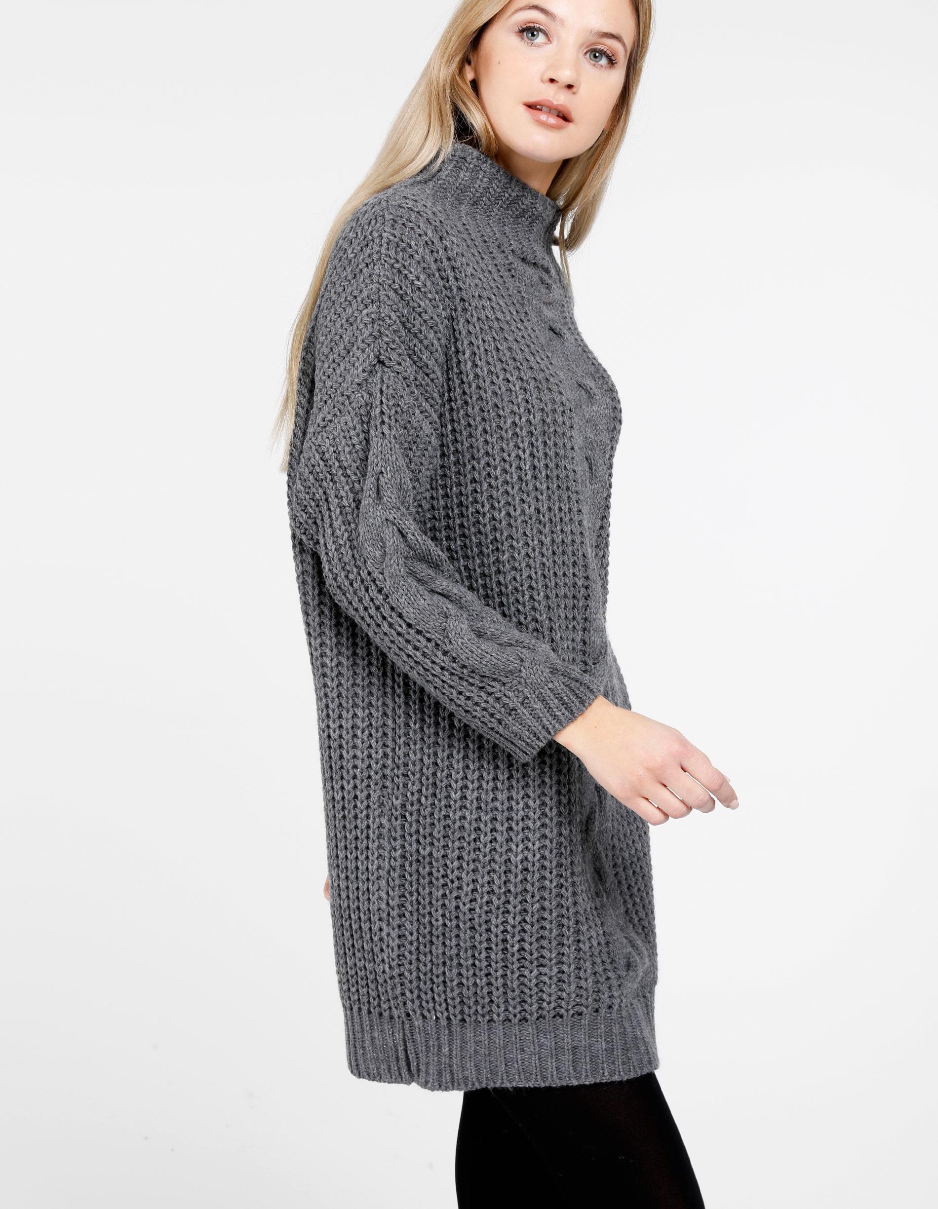 Sweter - 167-890 GR SC - Unisono