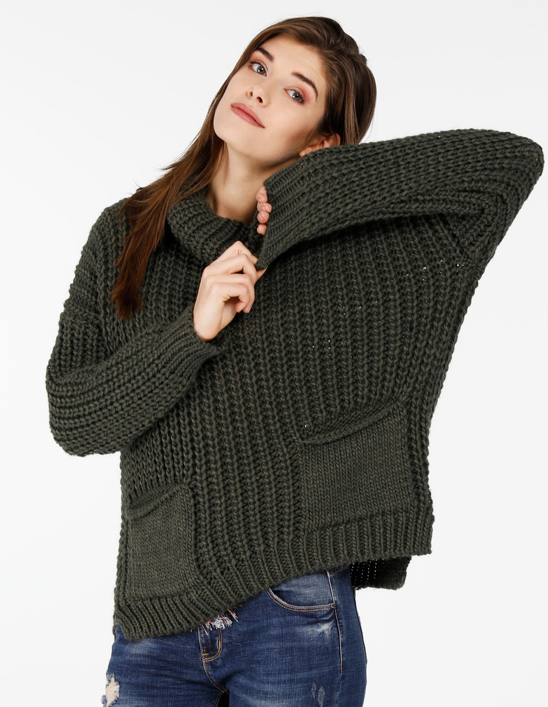 Sweter - 21-6660 MILIT - Unisono