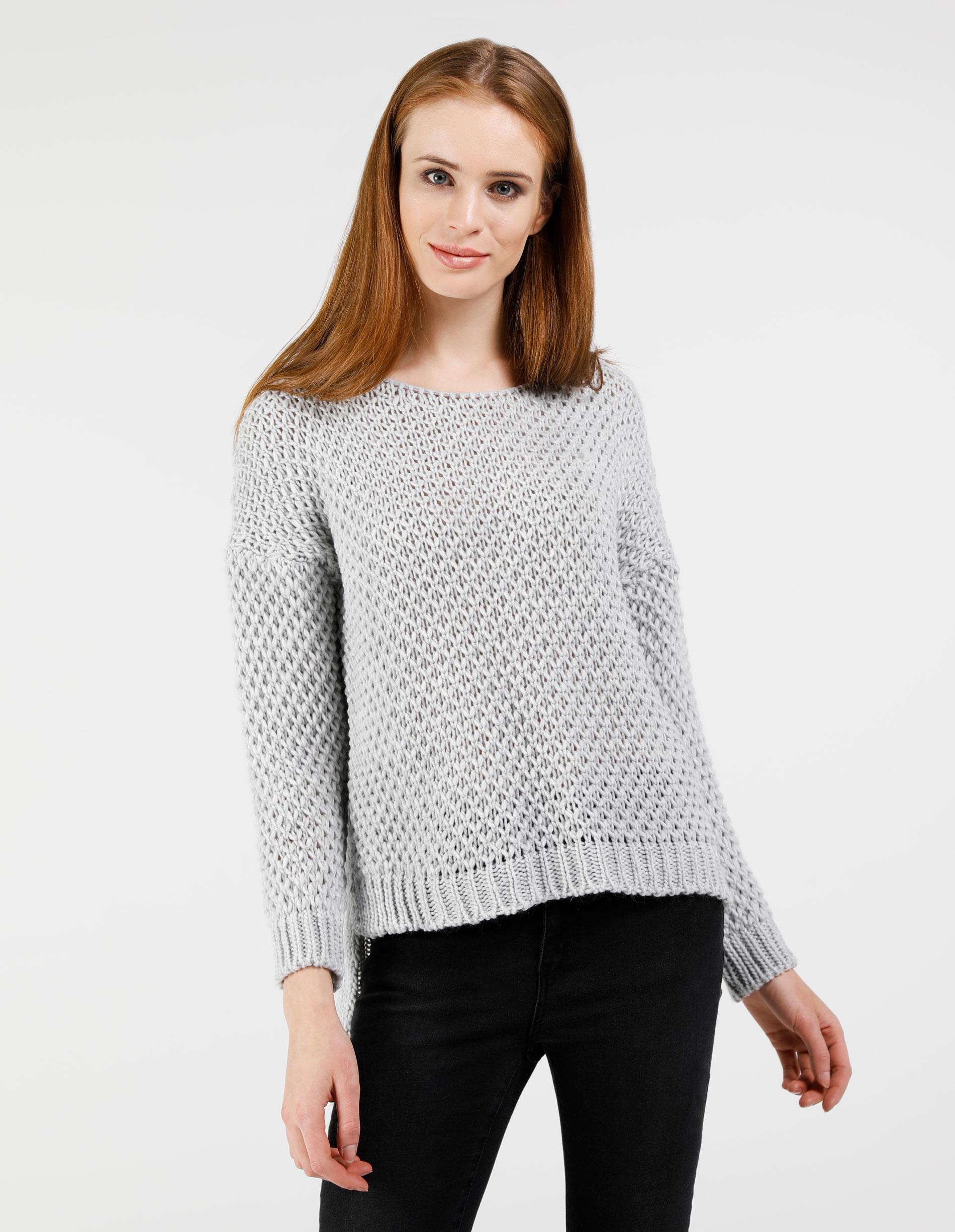 Sweter - 21-0894 GR CH - Unisono
