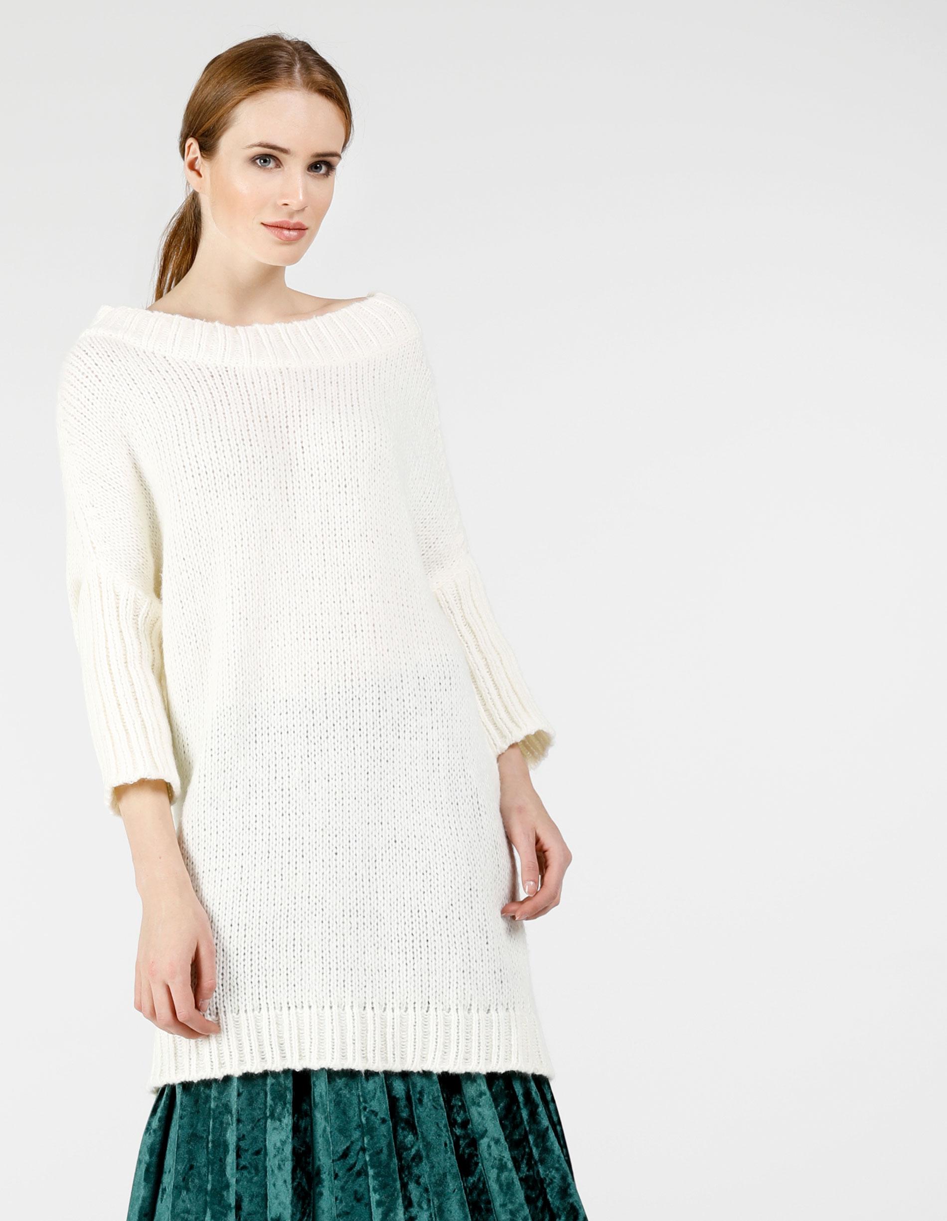 Sweter - 8-915B PANNA - Unisono