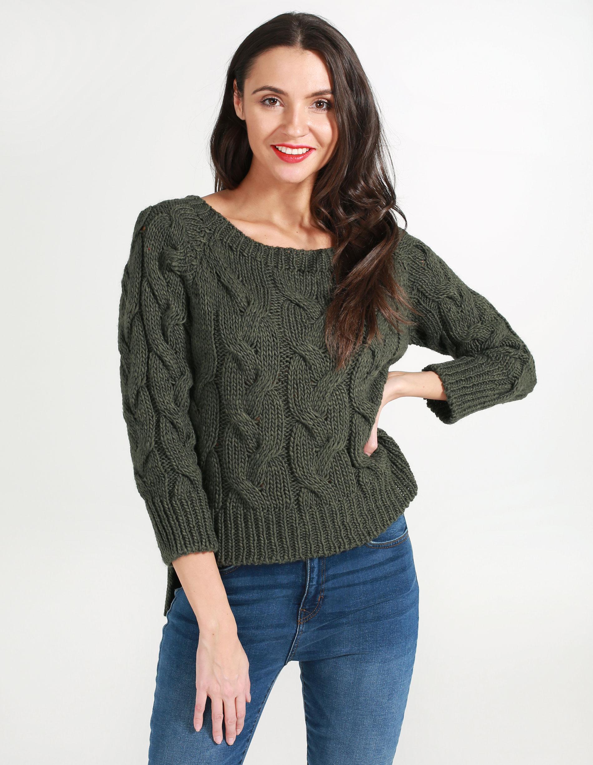 Sweter - 167-112 MILIT - Unisono