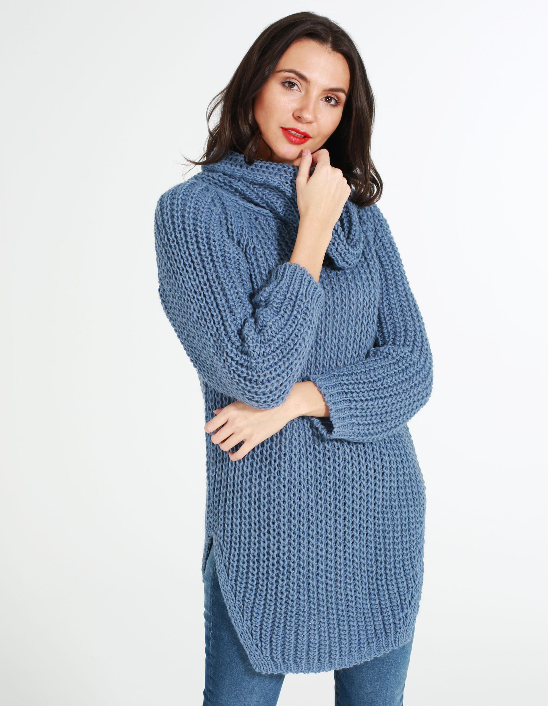 Sweter - 167-792 JEANS - Unisono