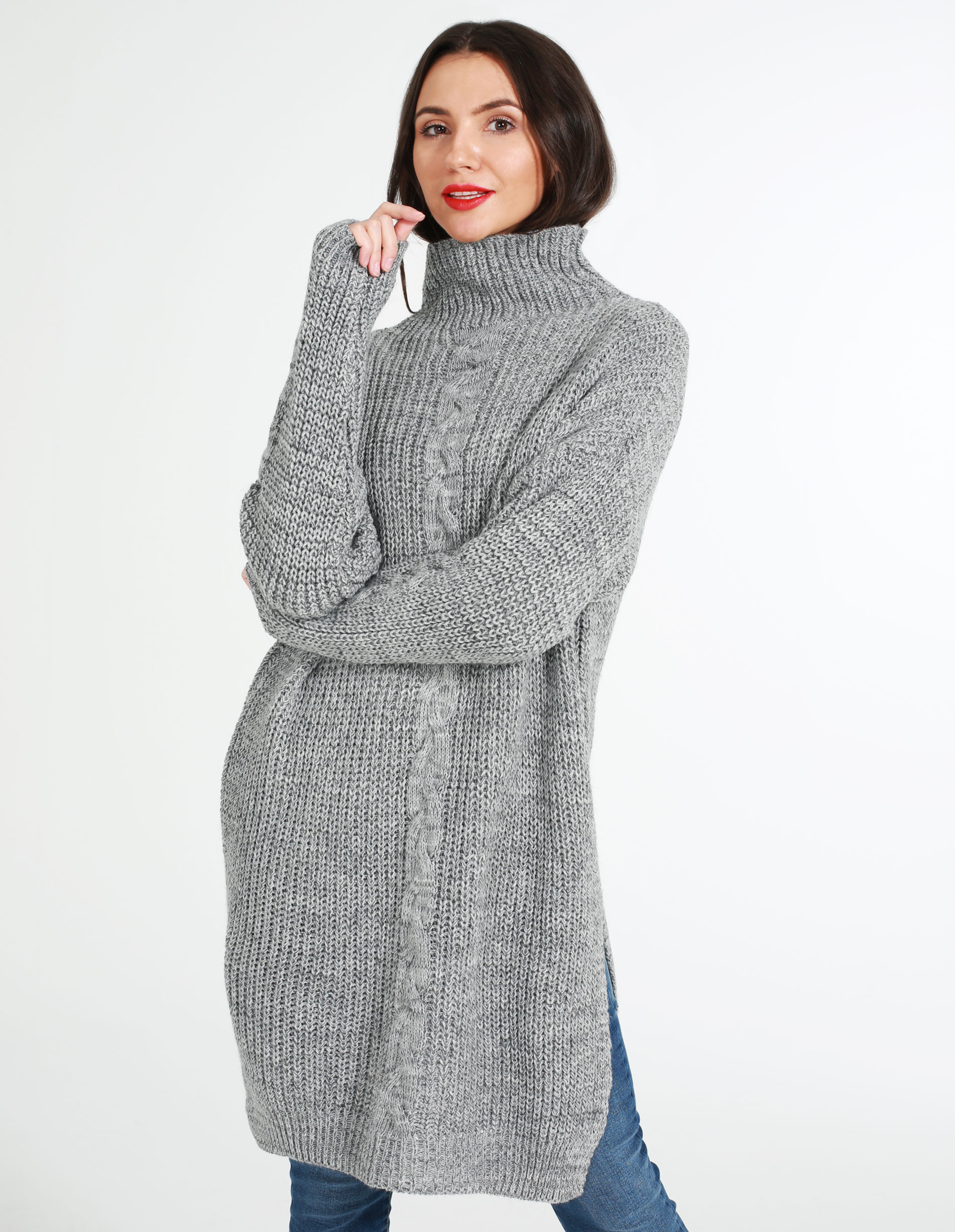 Sweter - 4-6111 GRI SC - Unisono