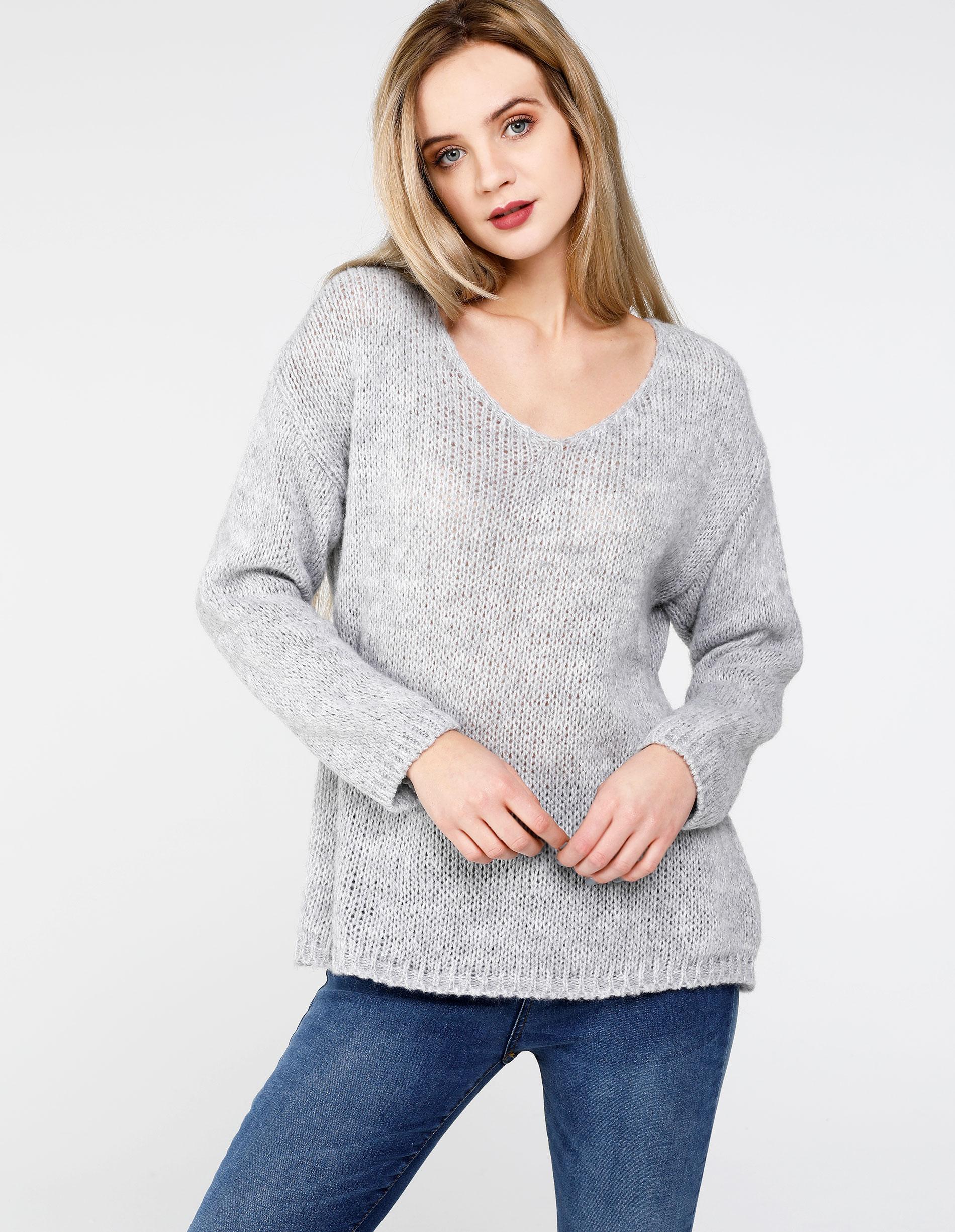 Sweter - 167-797-1 GRC - Unisono