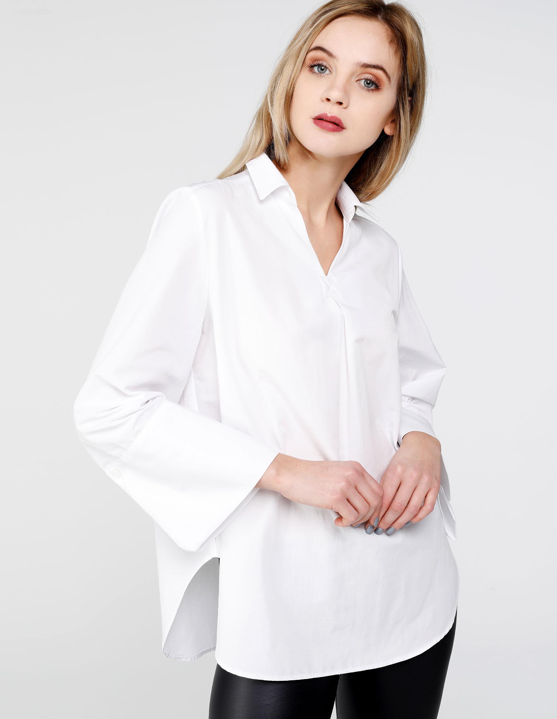 Koszula - 3-255 WHITE - Unisono