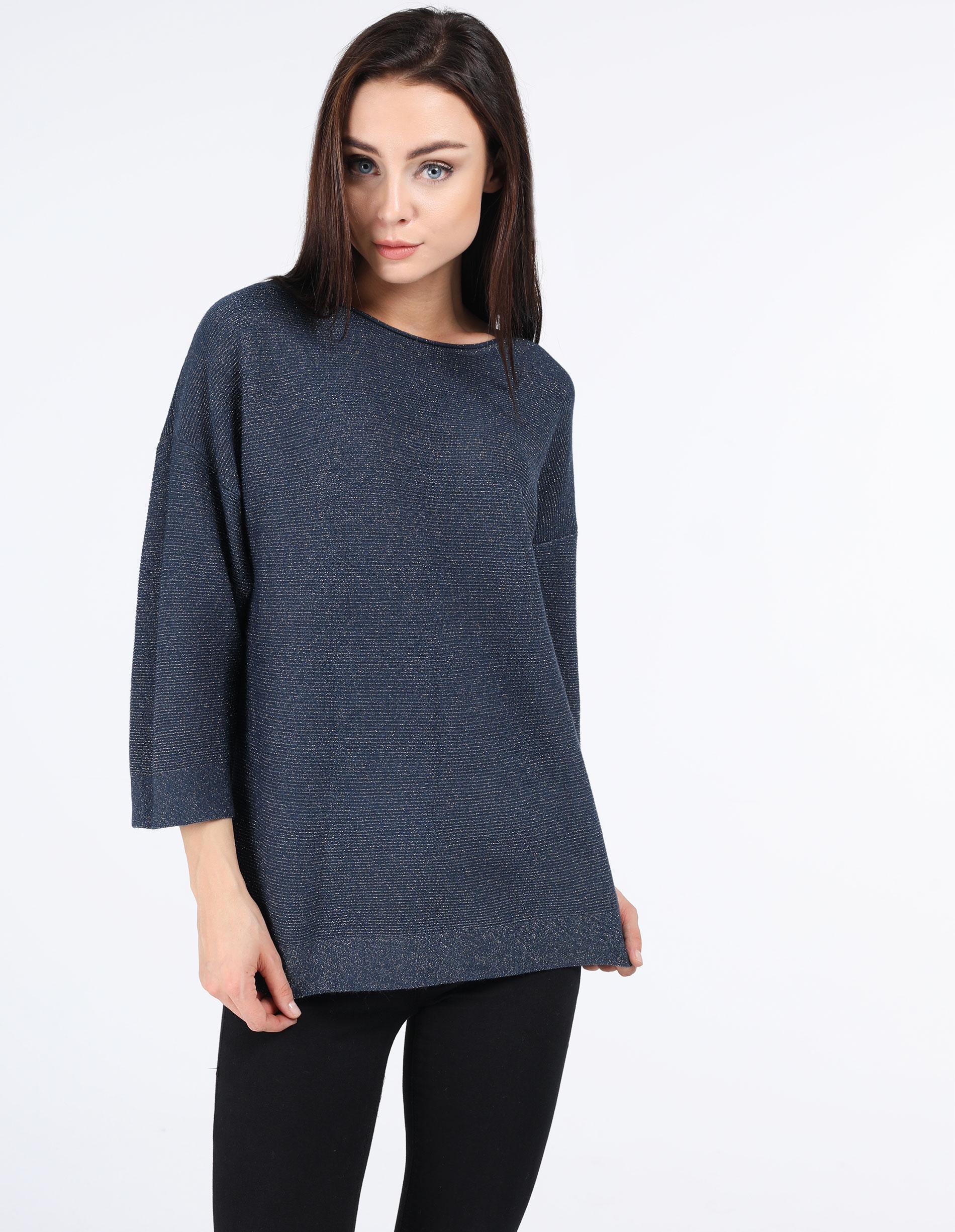 Sweter - 153-17271 BLU - Unisono