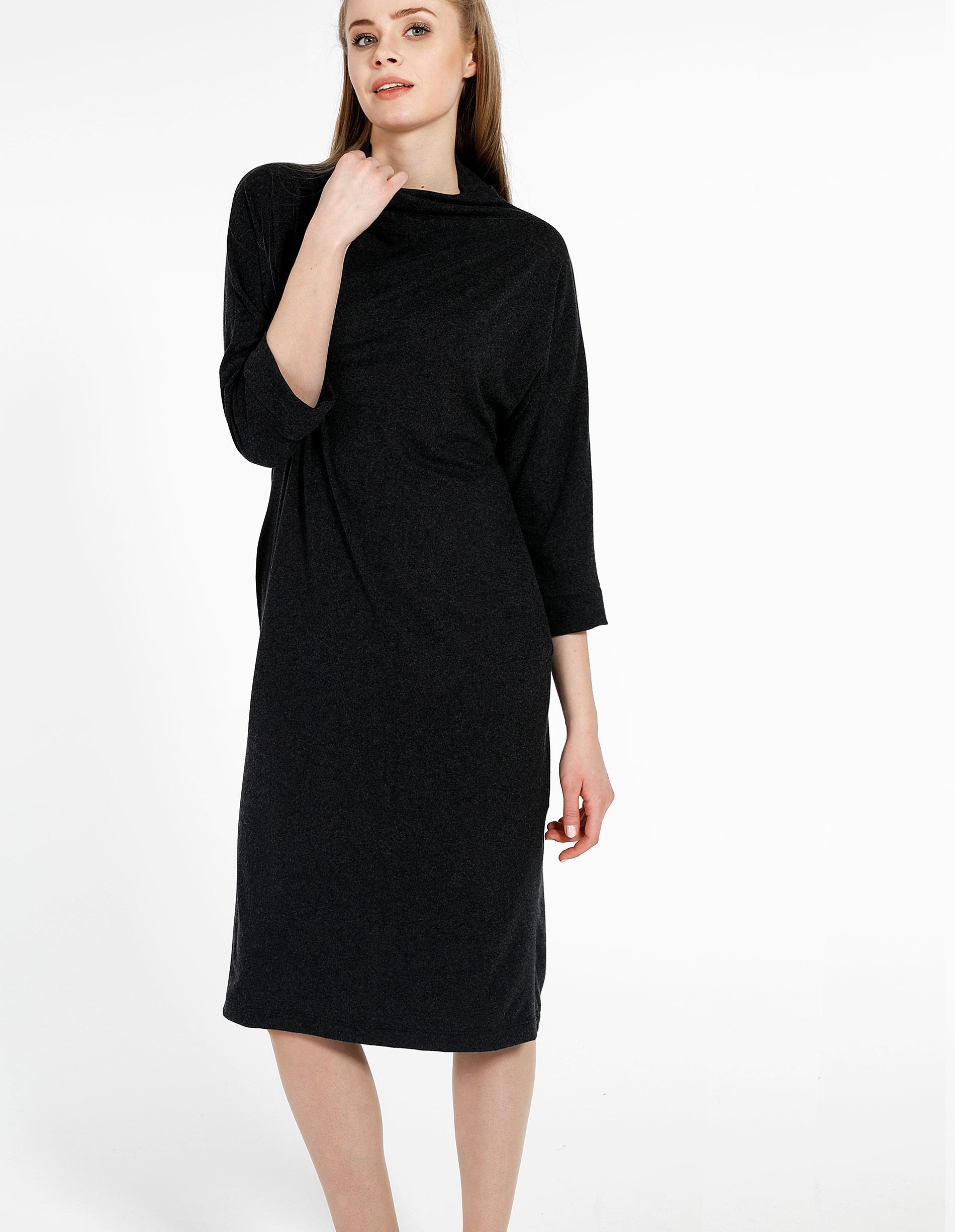 Sukienka - 30-88031 NERO - Unisono