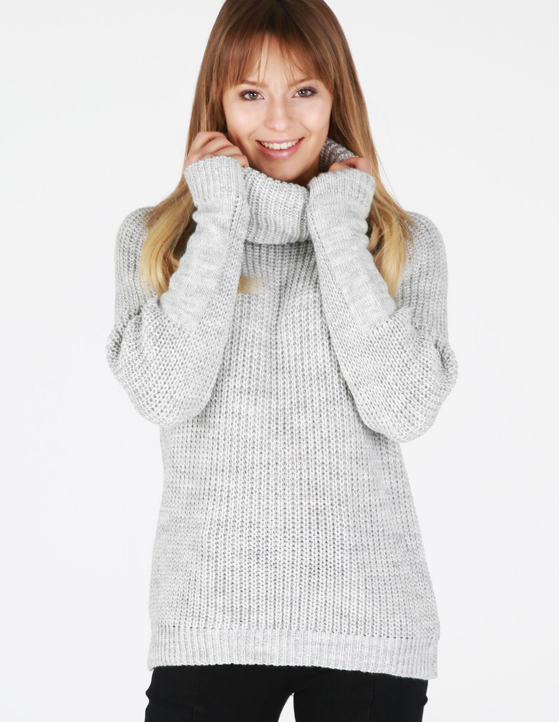Sweter - 4-6176 GRI CH - Unisono