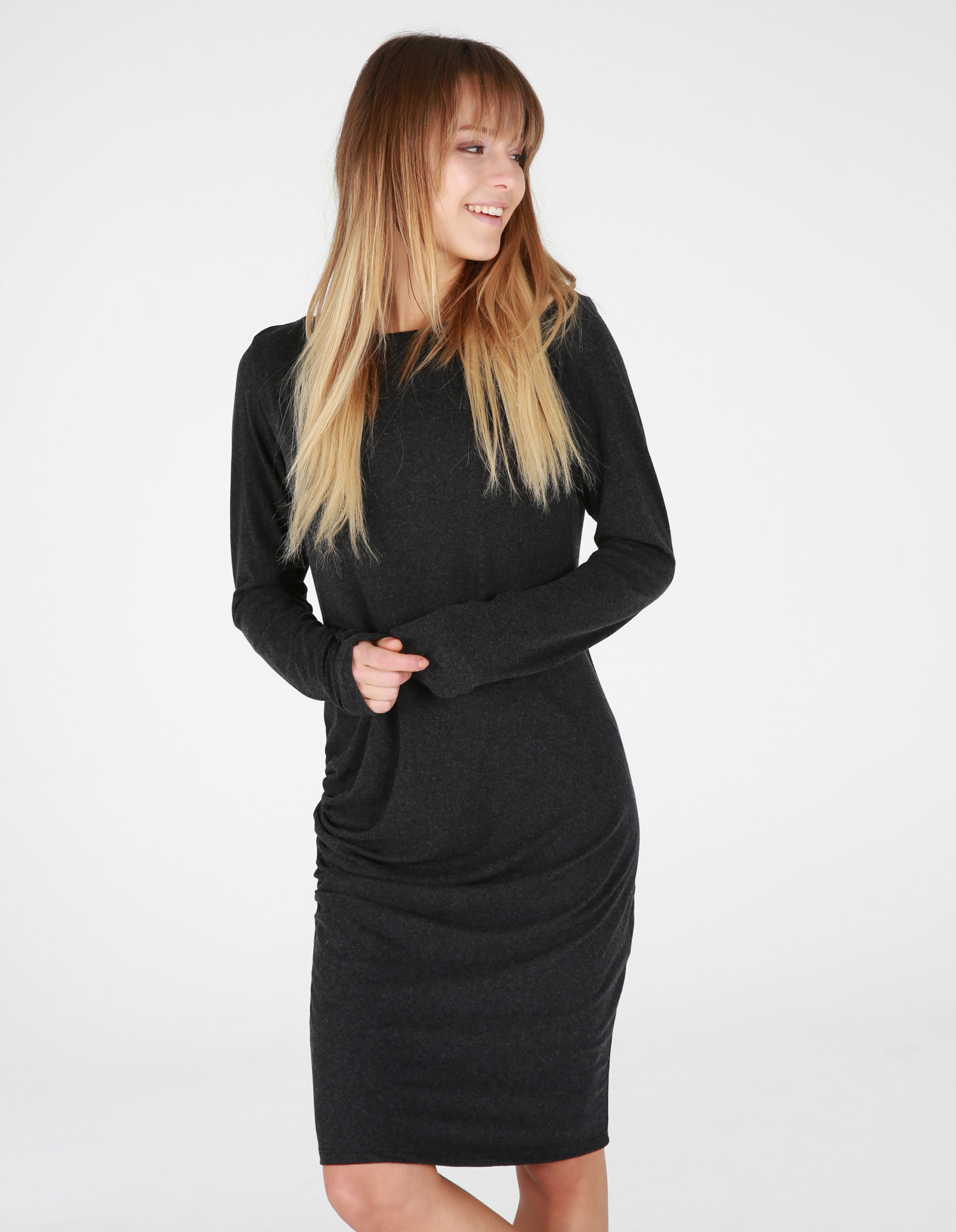 Sukienka - 30-88026 NERO - Unisono