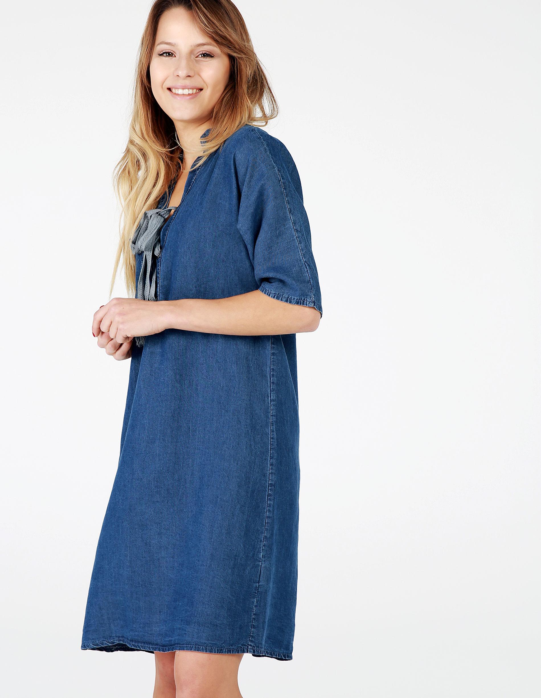 Sukienka - 12-60470 JEAN - Unisono