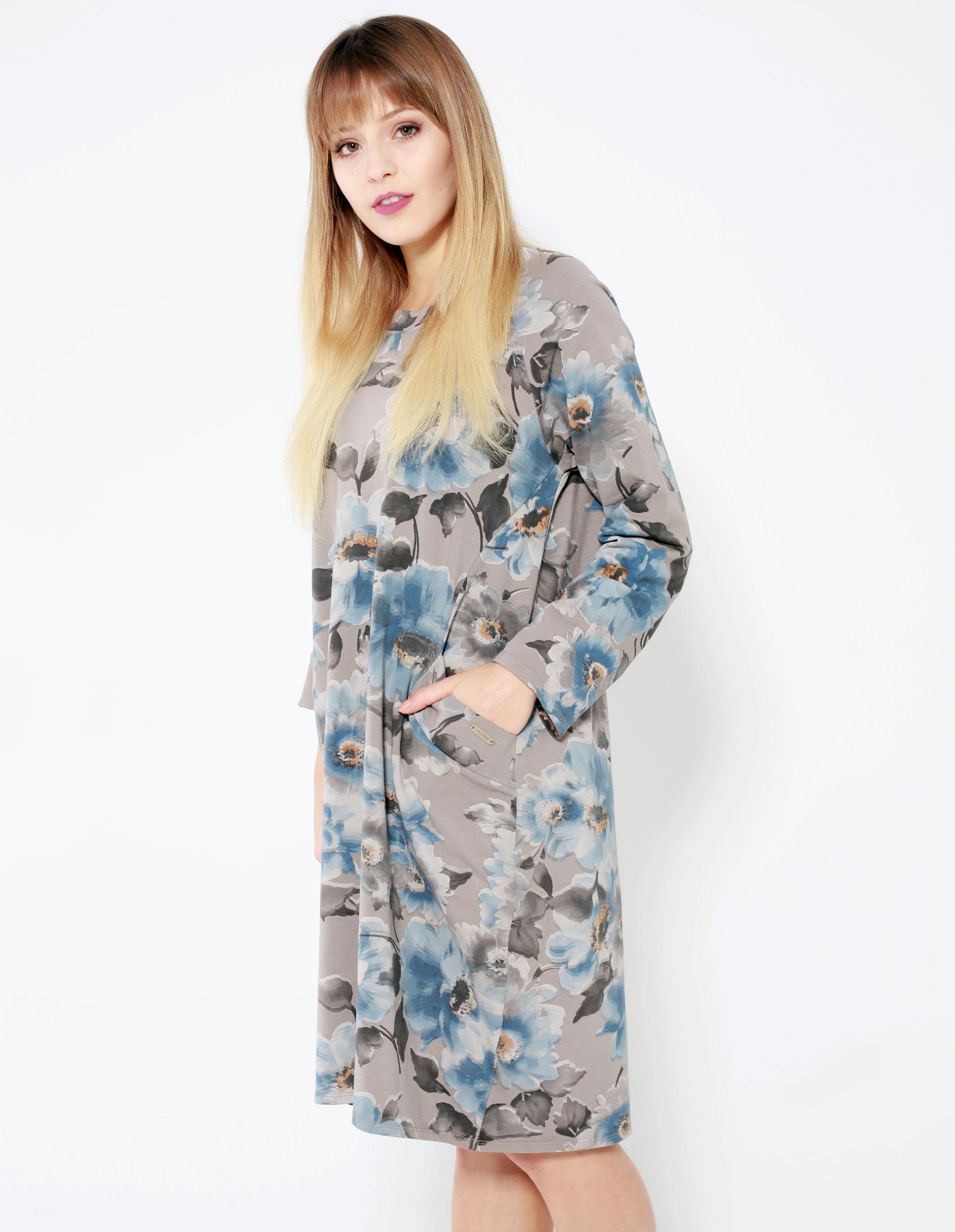 Sukienka - 128-17554 FAN - Unisono