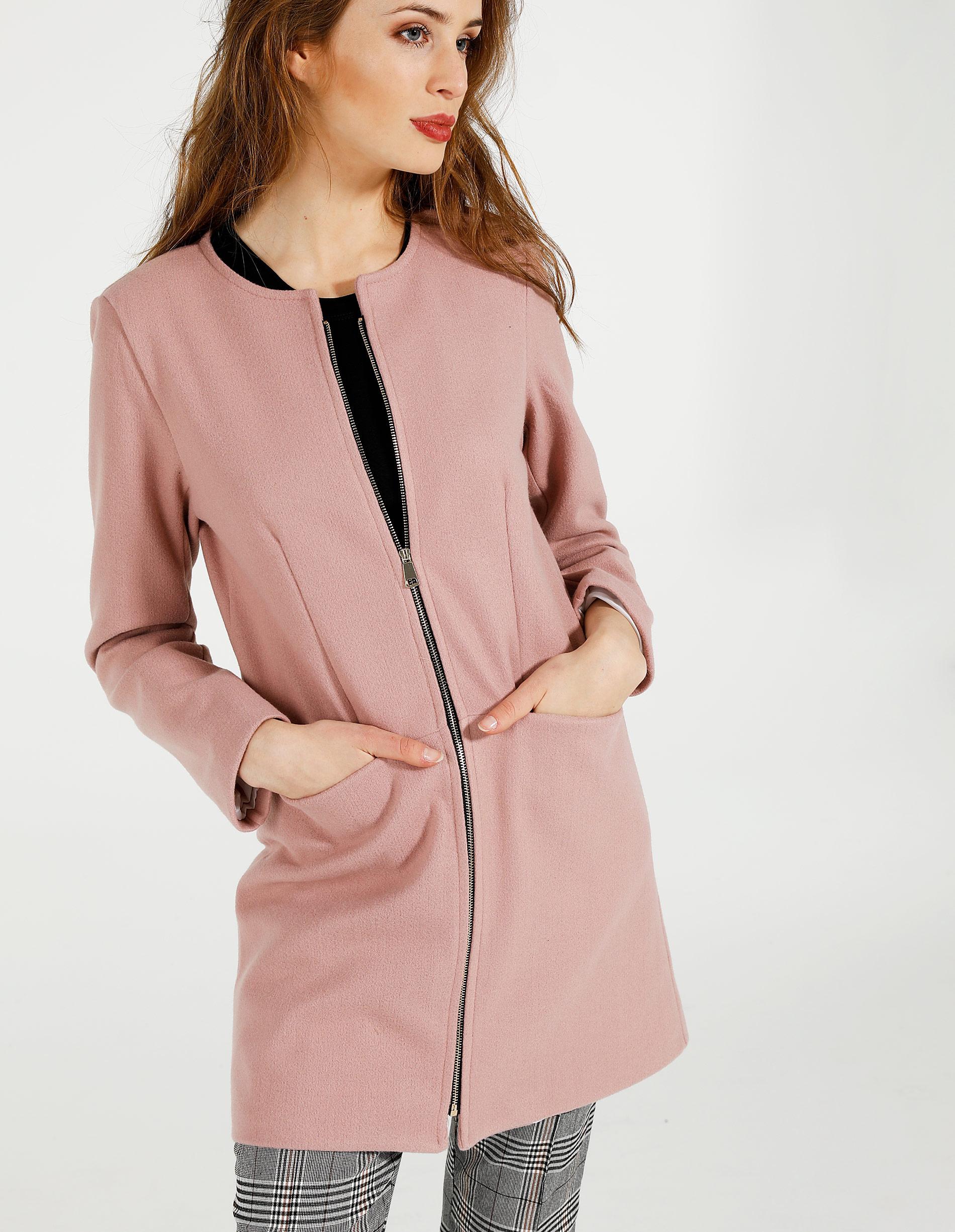 Płaszcz materiałowy - 140-0560 ROSA - Unisono