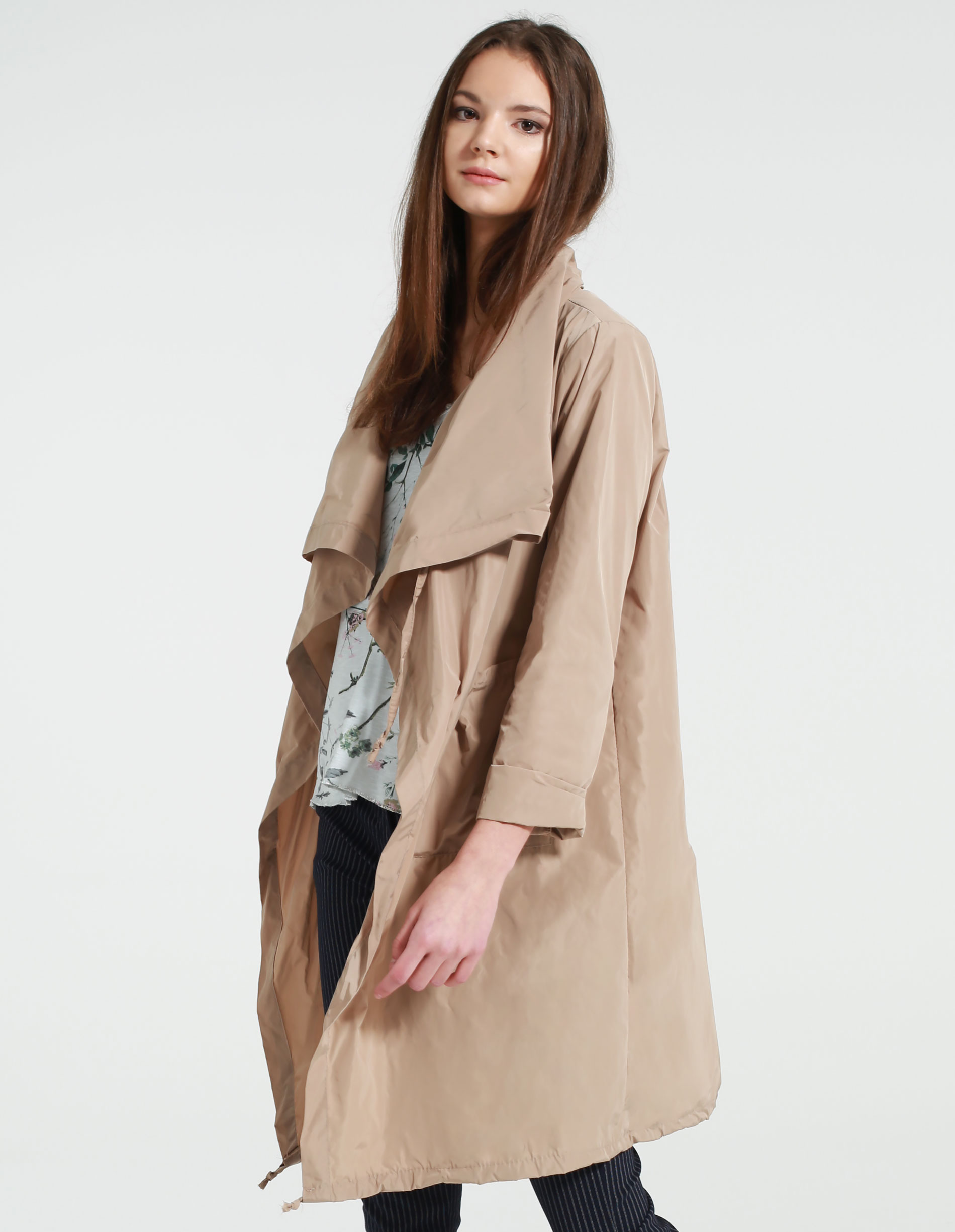 Płaszcz materiałowy - 112-70444 BEI - Unisono