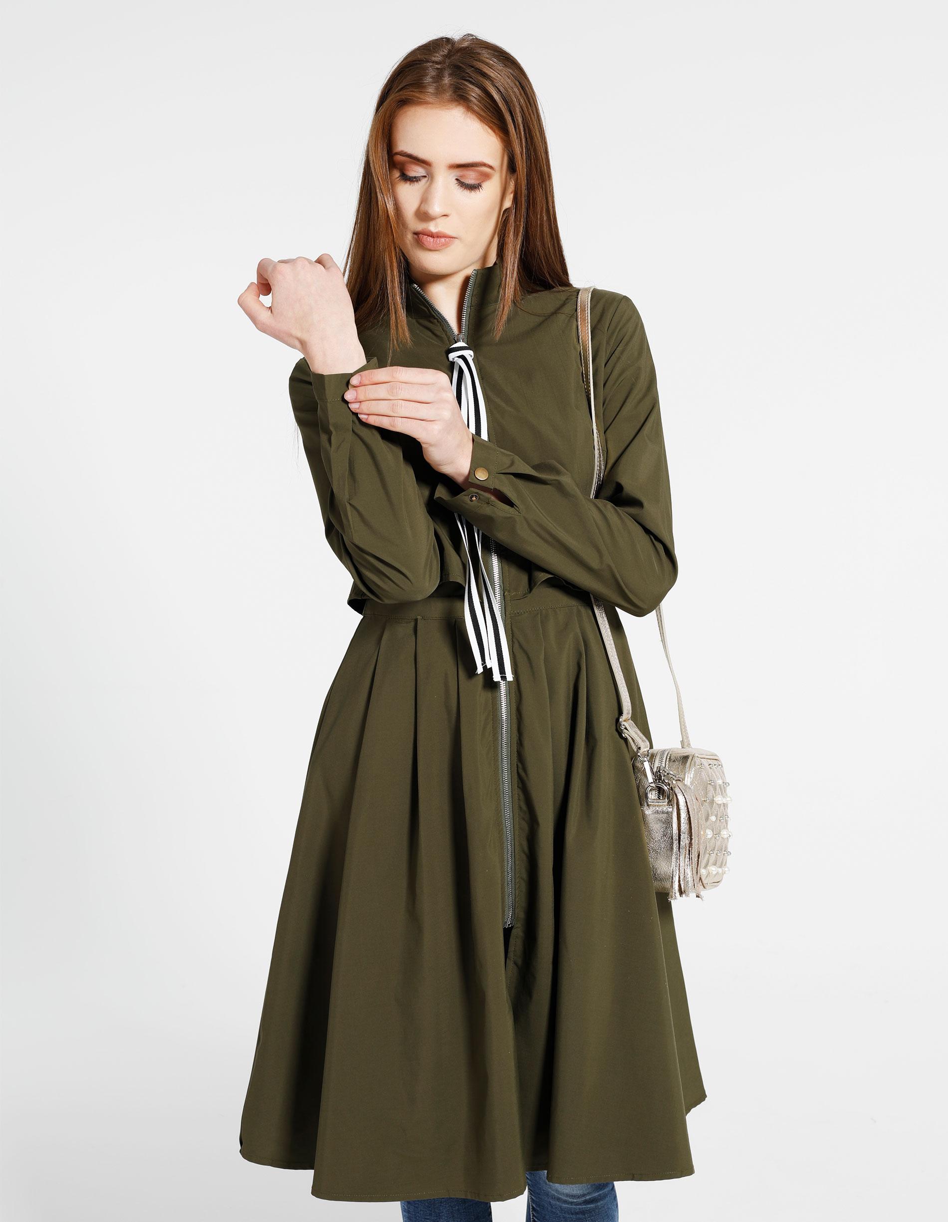Płaszcz materiałowy - 134-2730 MILI - Unisono
