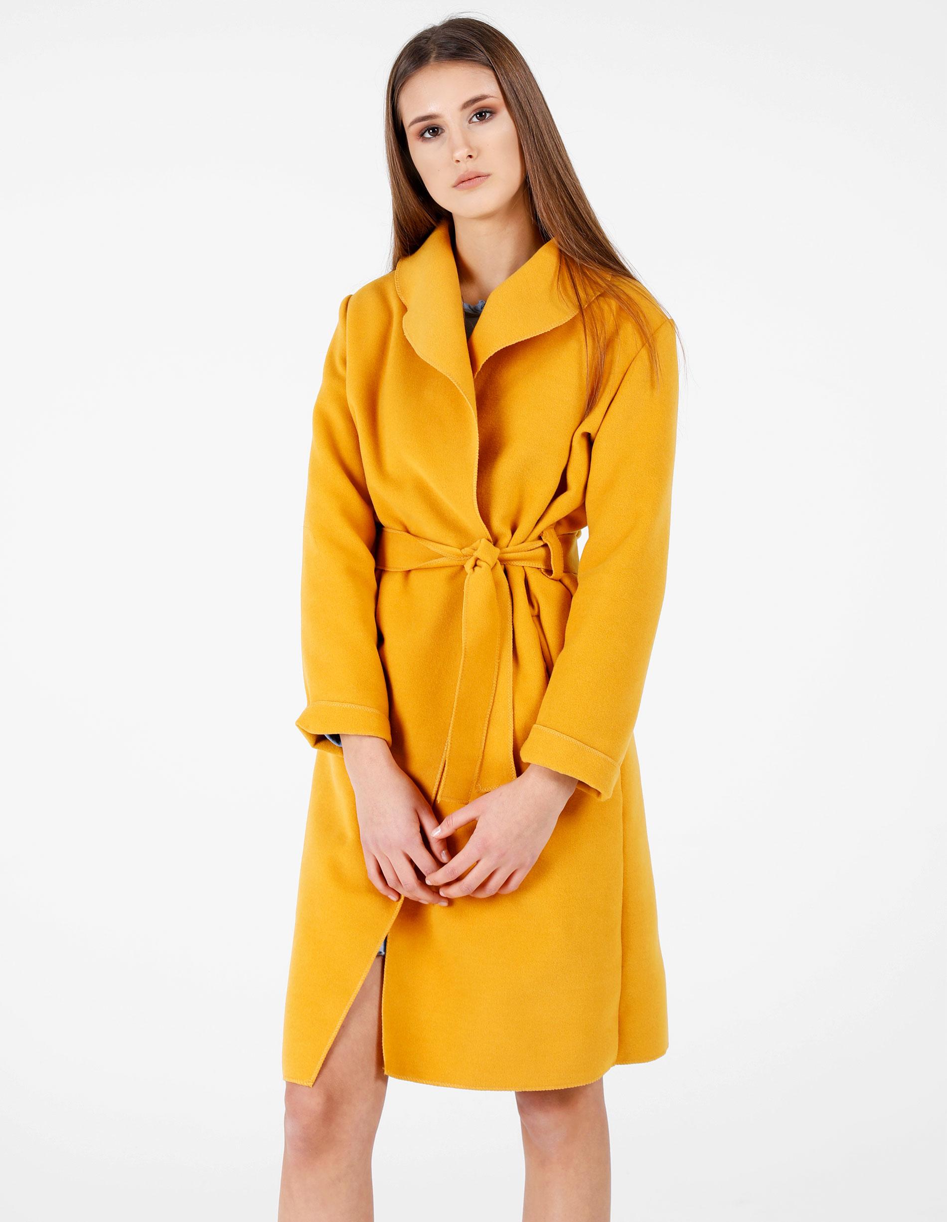 Płaszcz materiałowy - 65-6168A SENA - Unisono