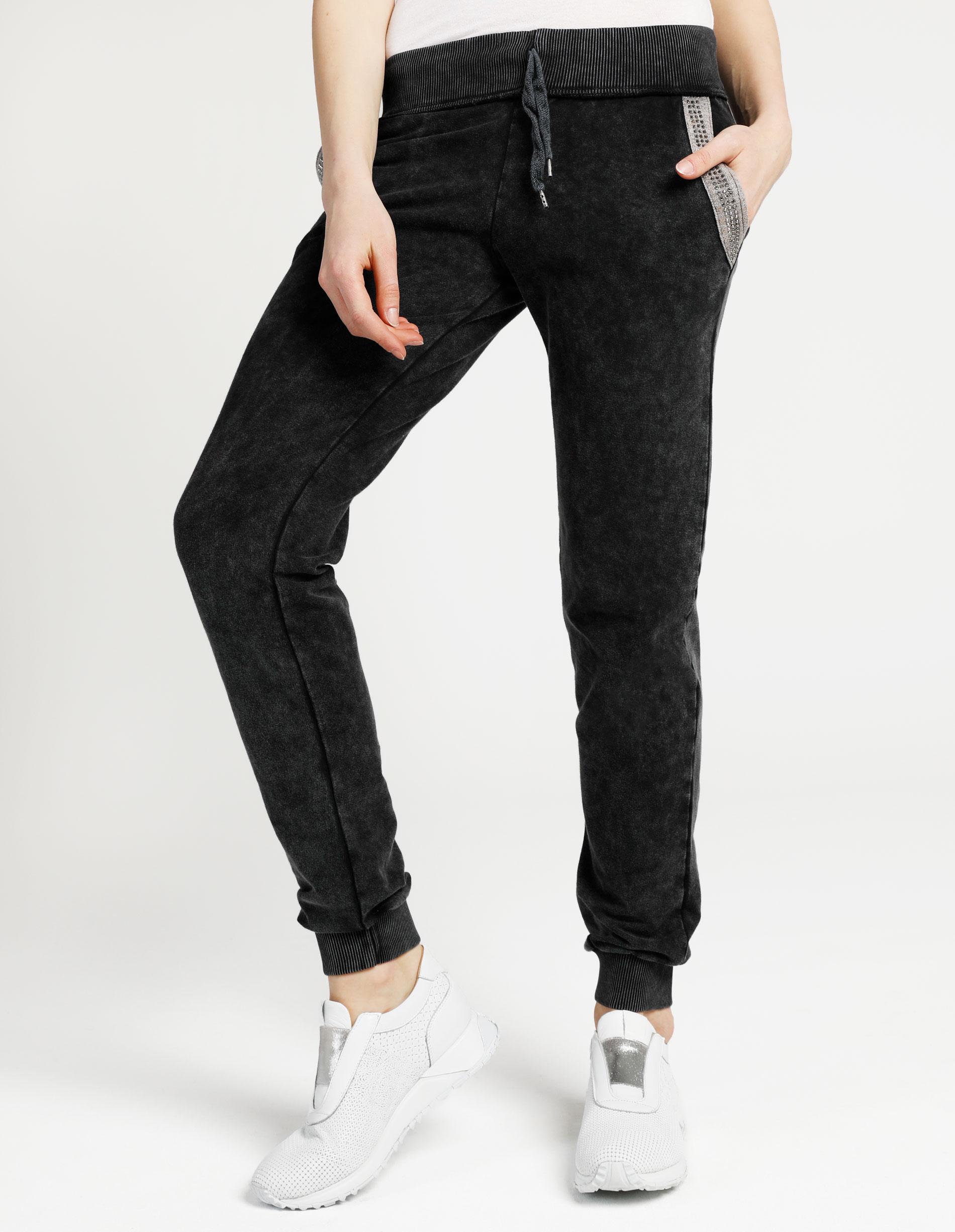 Spodnie - 4-8761-P BLAC - Unisono