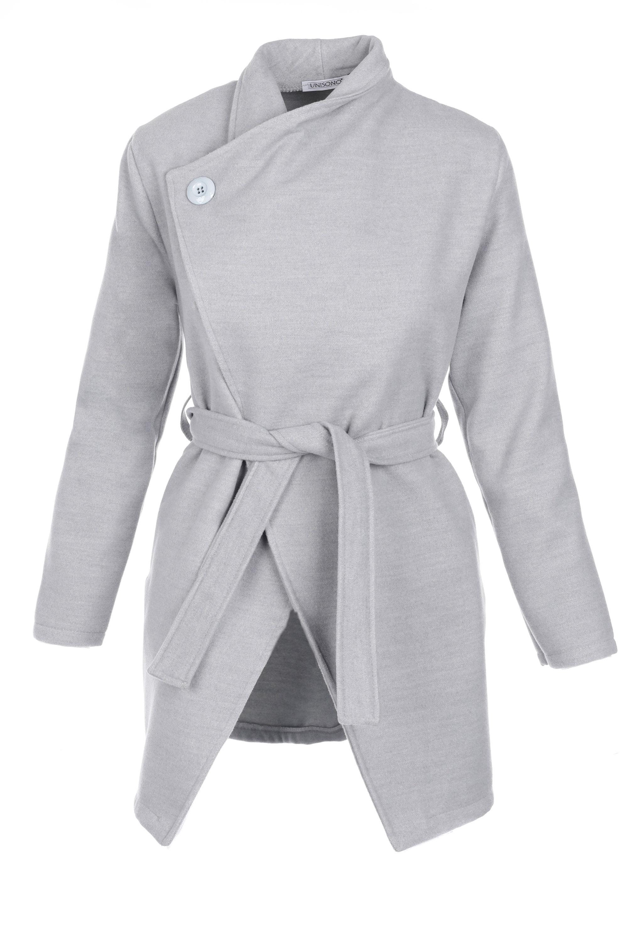 Płaszcz materiałowy - 65-6386 PERLA - Unisono