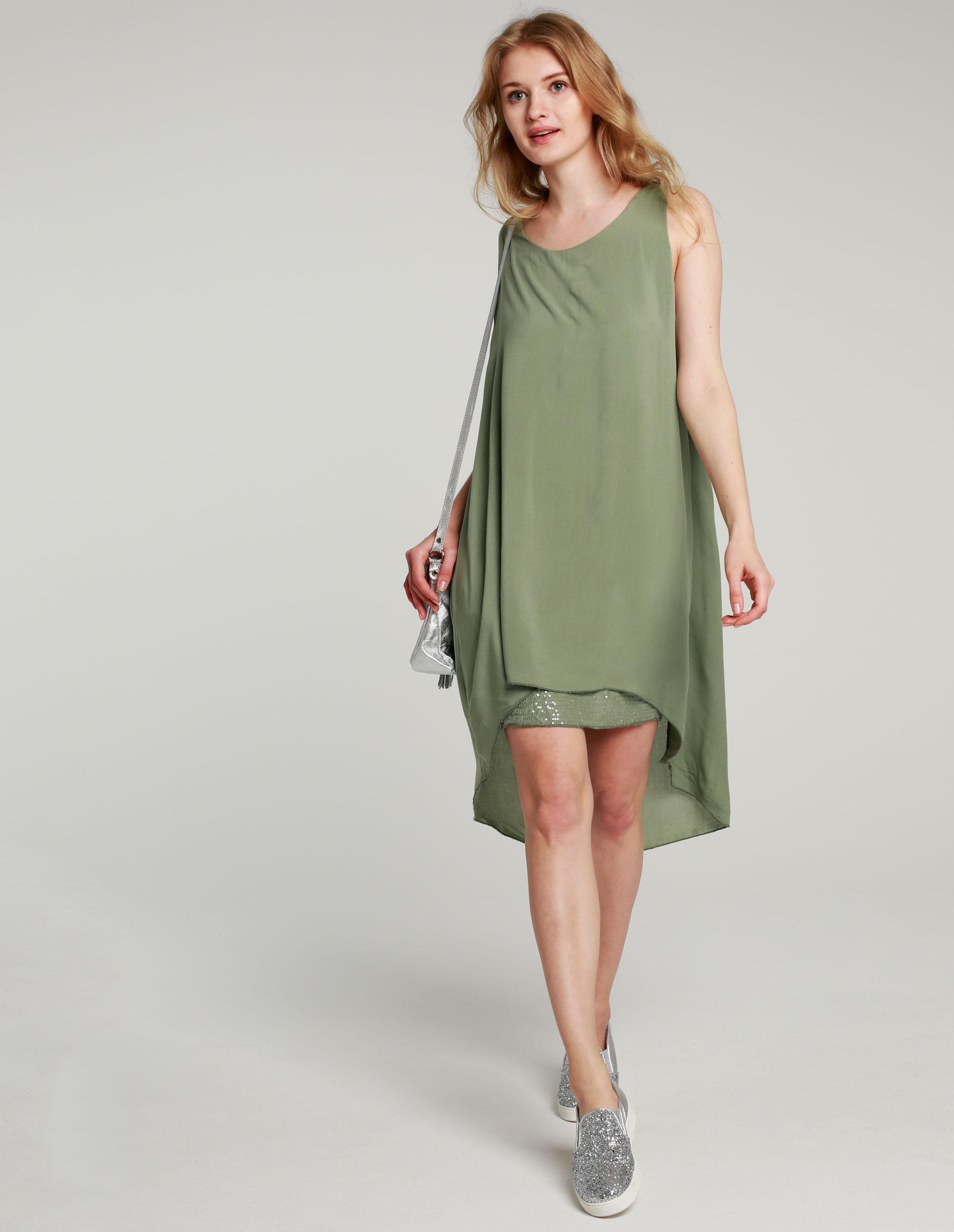 Sukienka - 65-5038L MILI - Unisono