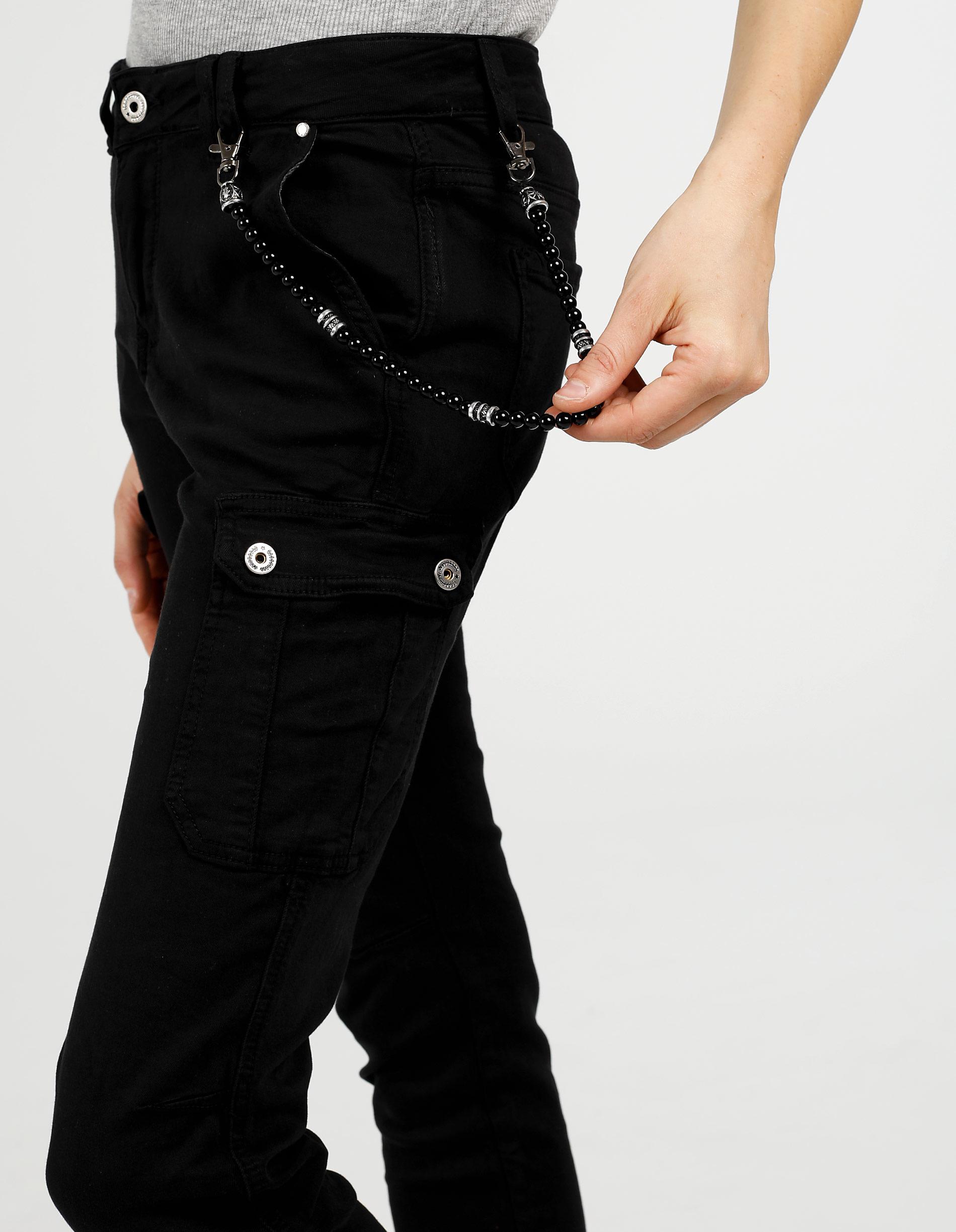 Spodnie - 70-3092 NERO - Unisono