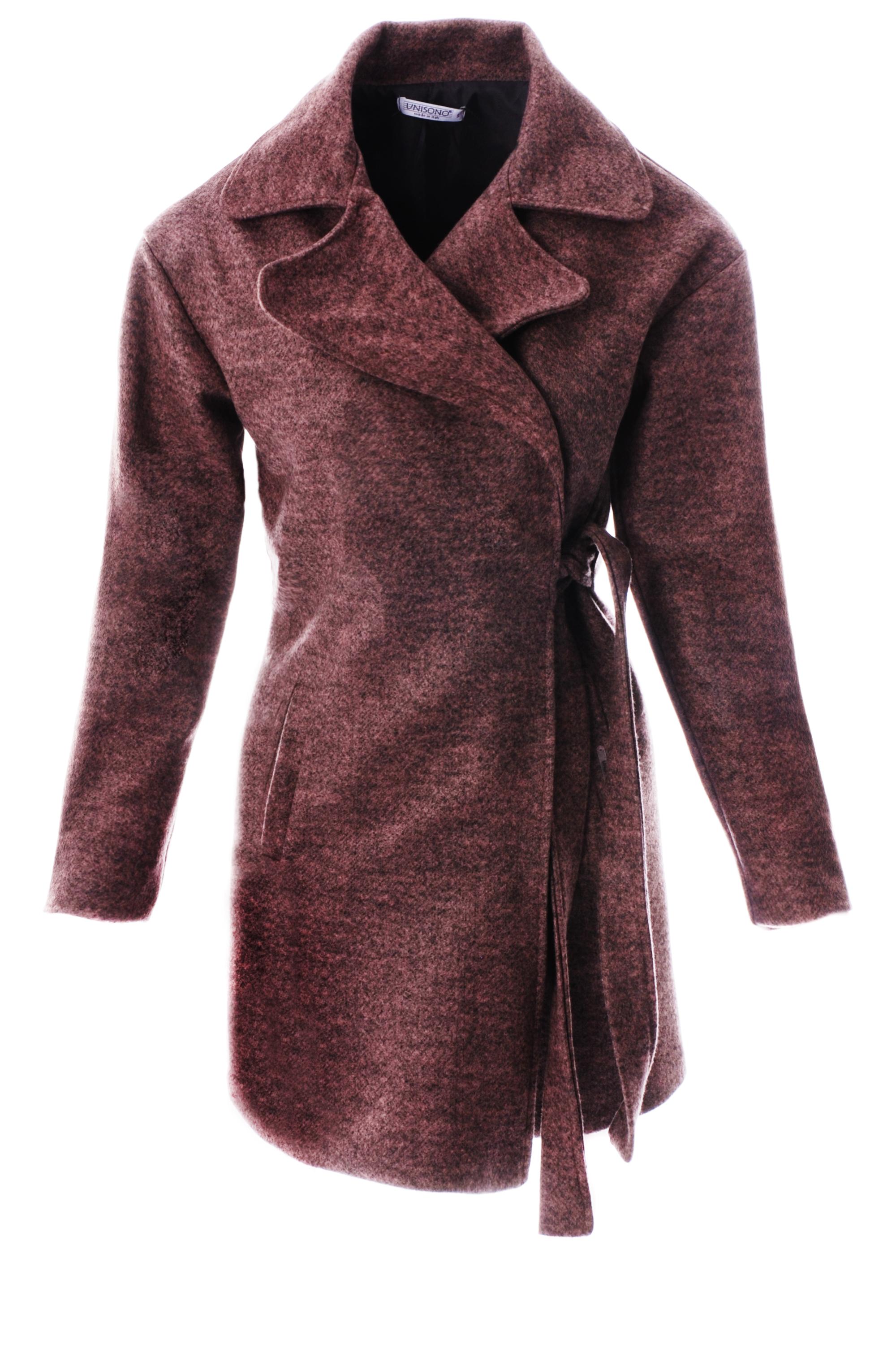 Płaszcz materiałowy - 34-3724 ROSA - Unisono