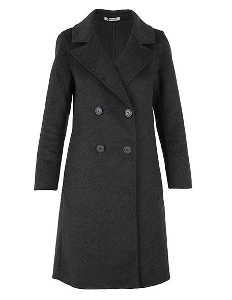 Płaszcz materiałowy - 76-2851 GR SC - Unisono