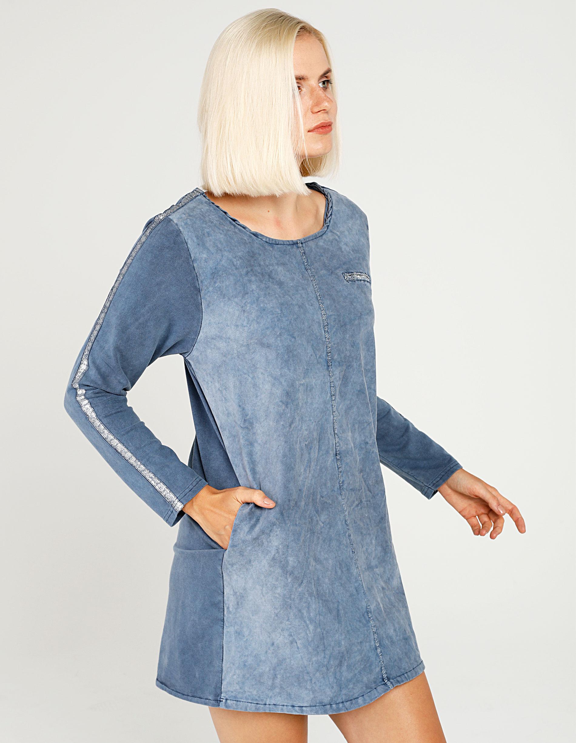 Sukienka - 141-8768 JEAN - Unisono