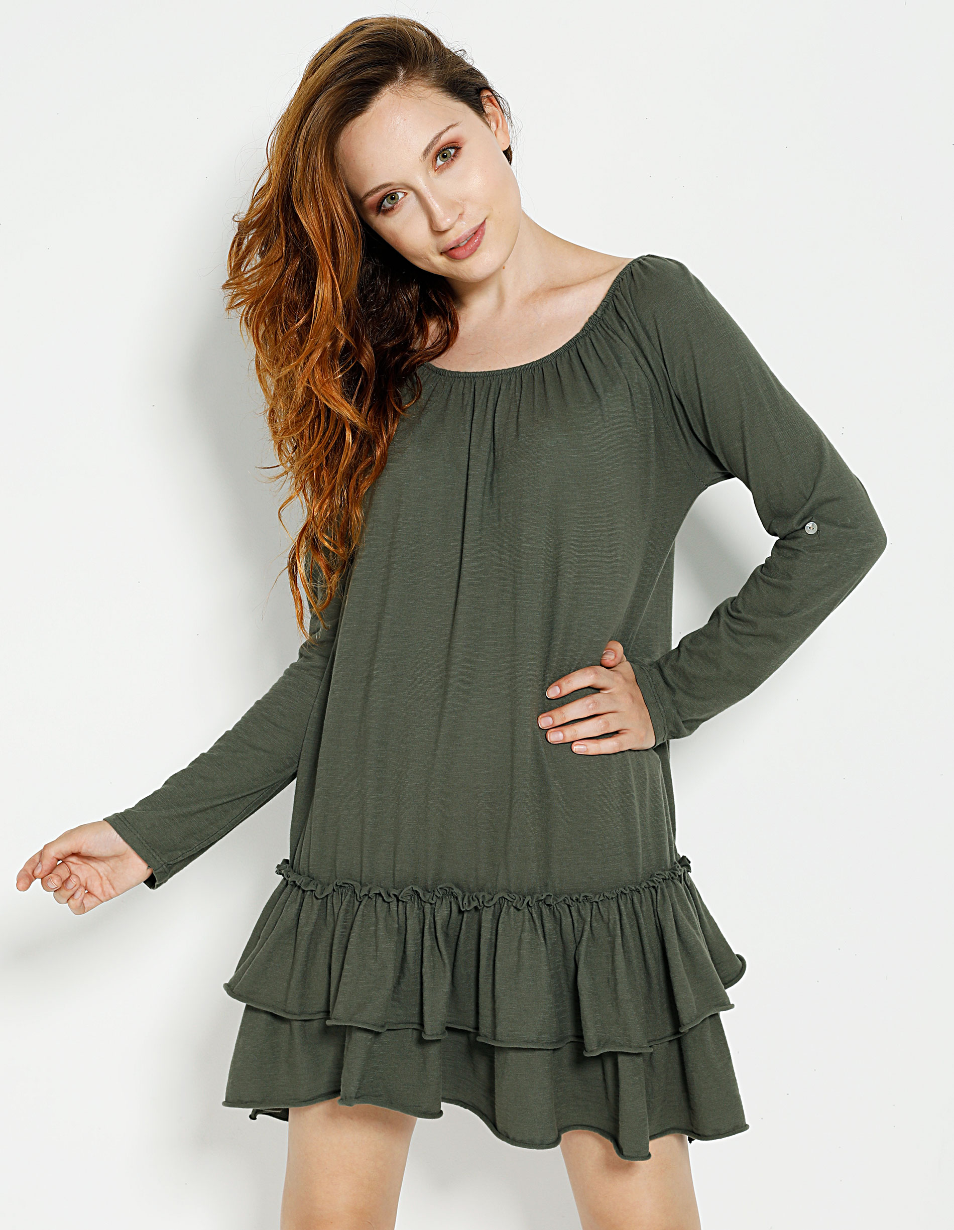 Sukienka - 115-4076 MILI - Unisono