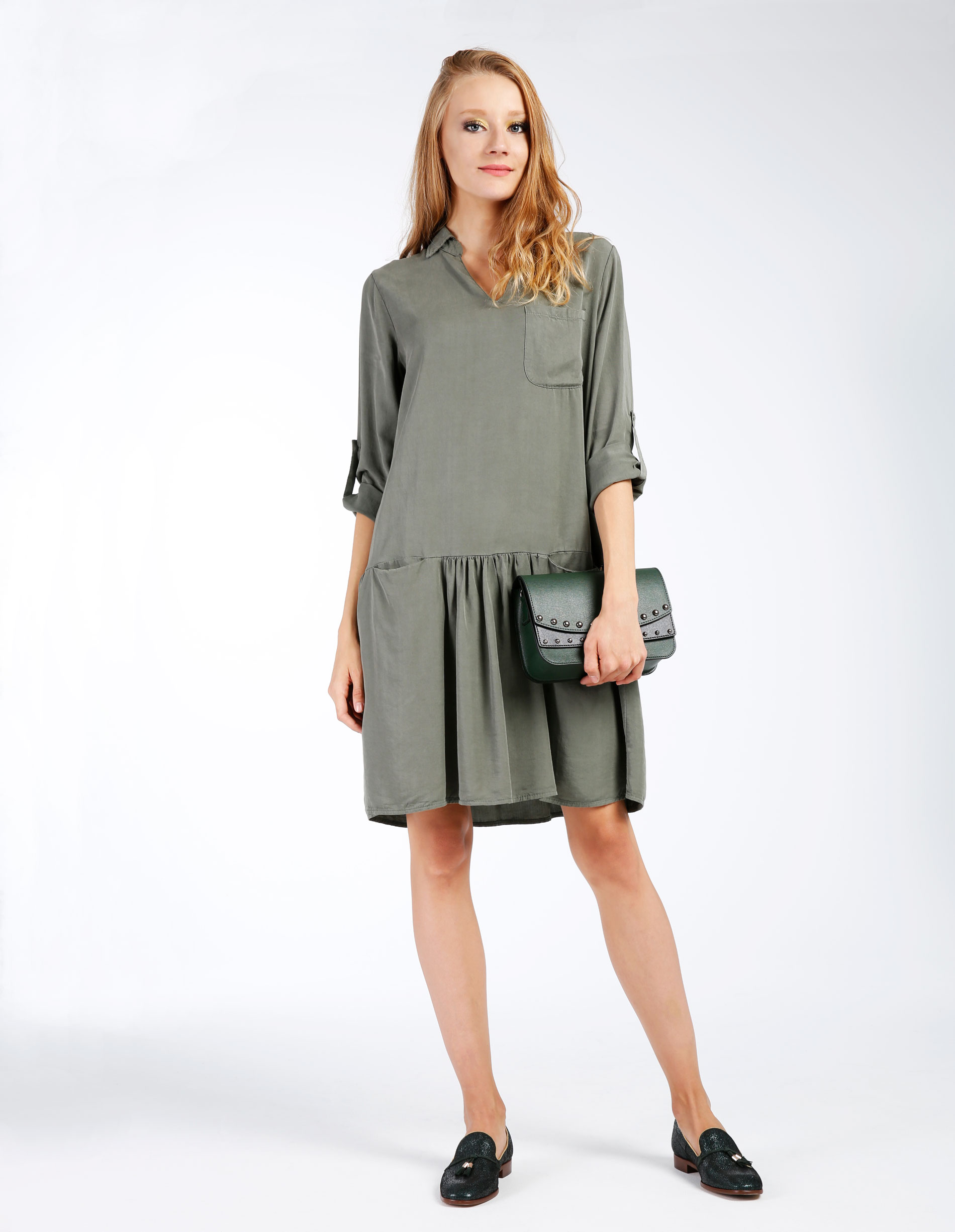 Sukienka - 138-1121 MILI - Unisono