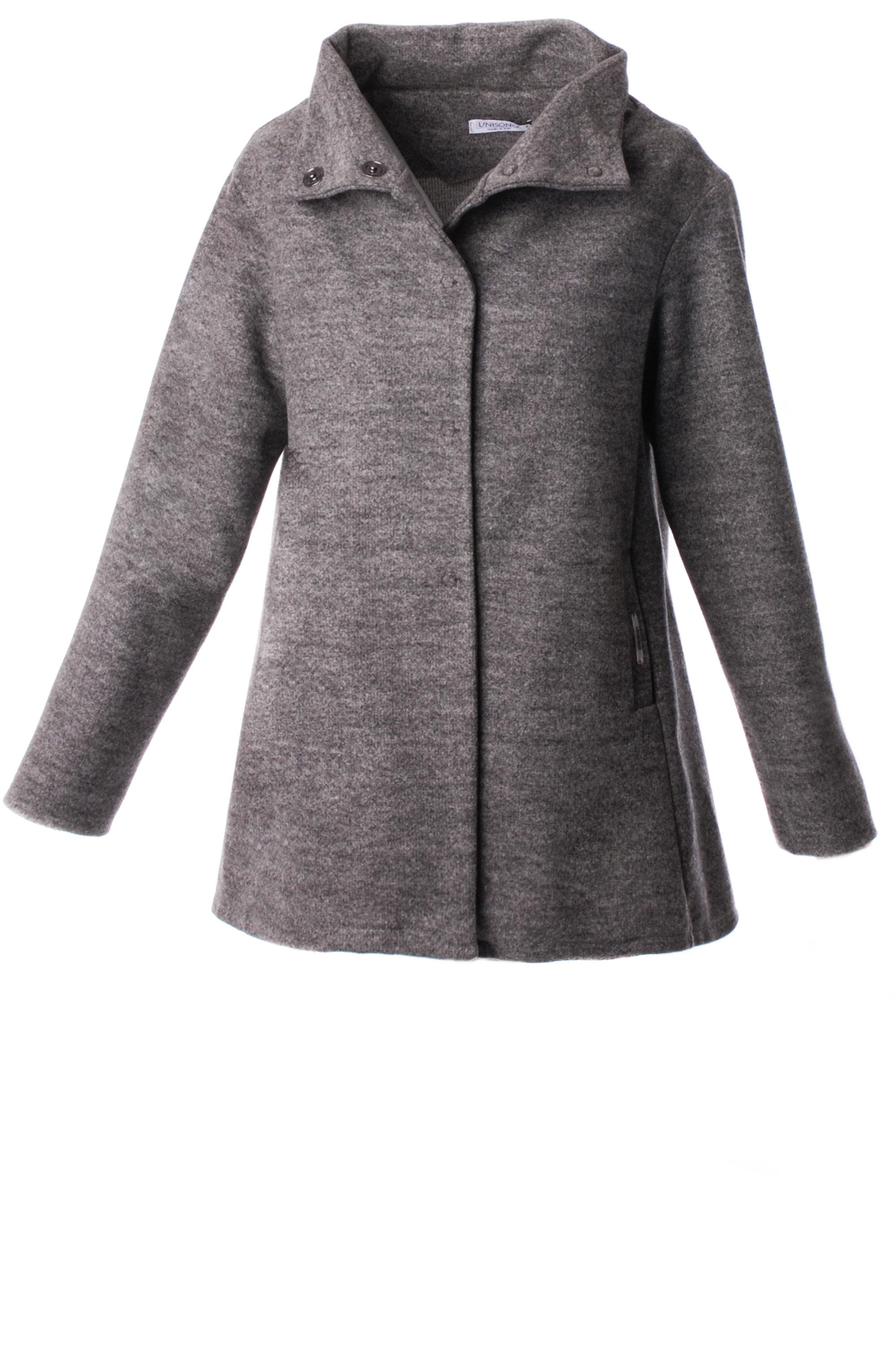 Płaszcz materiałowy - 34-3723 GRIGI - Unisono