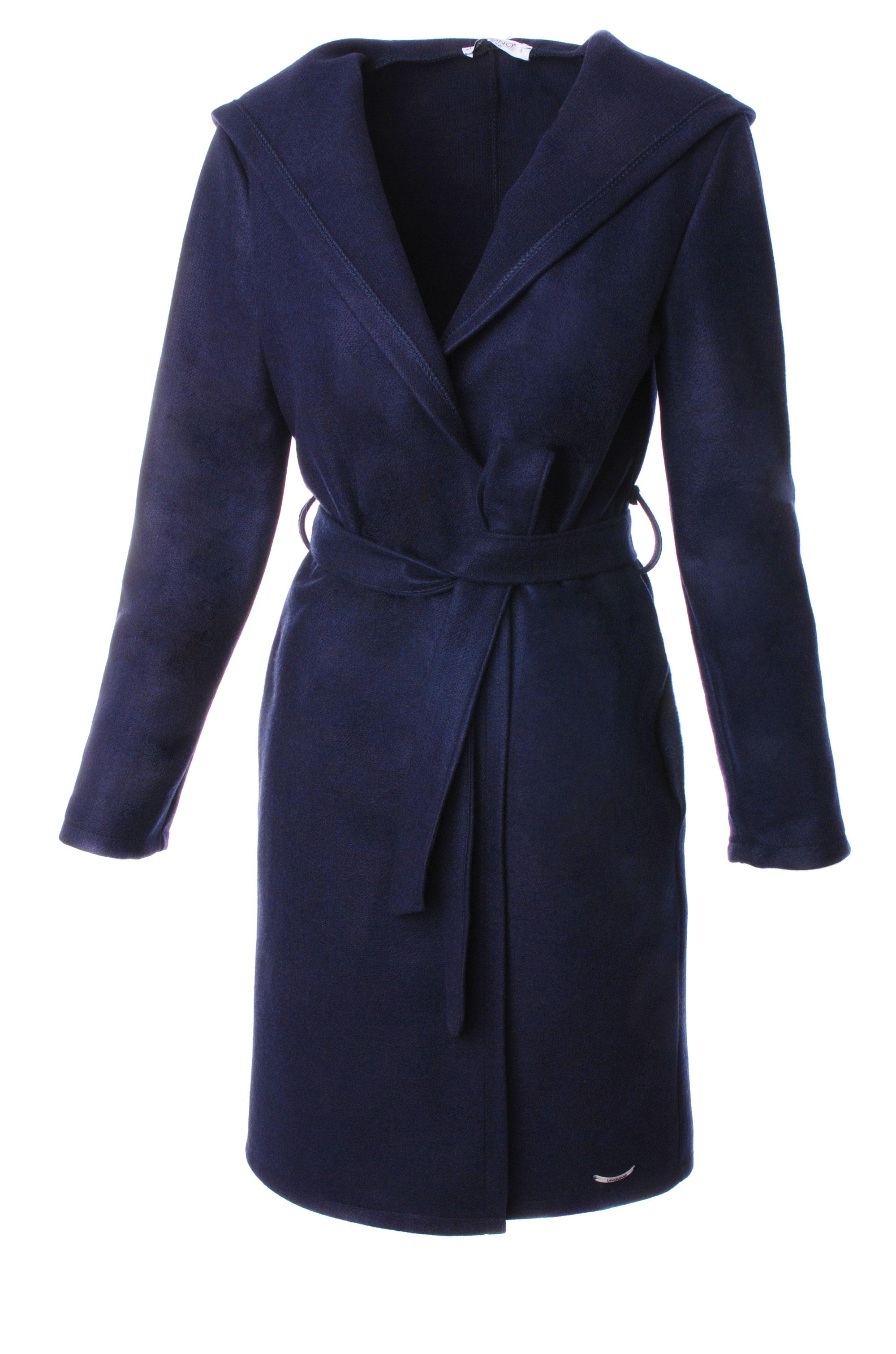 Płaszcz materiałowy - 34-3728 BL SC - Unisono