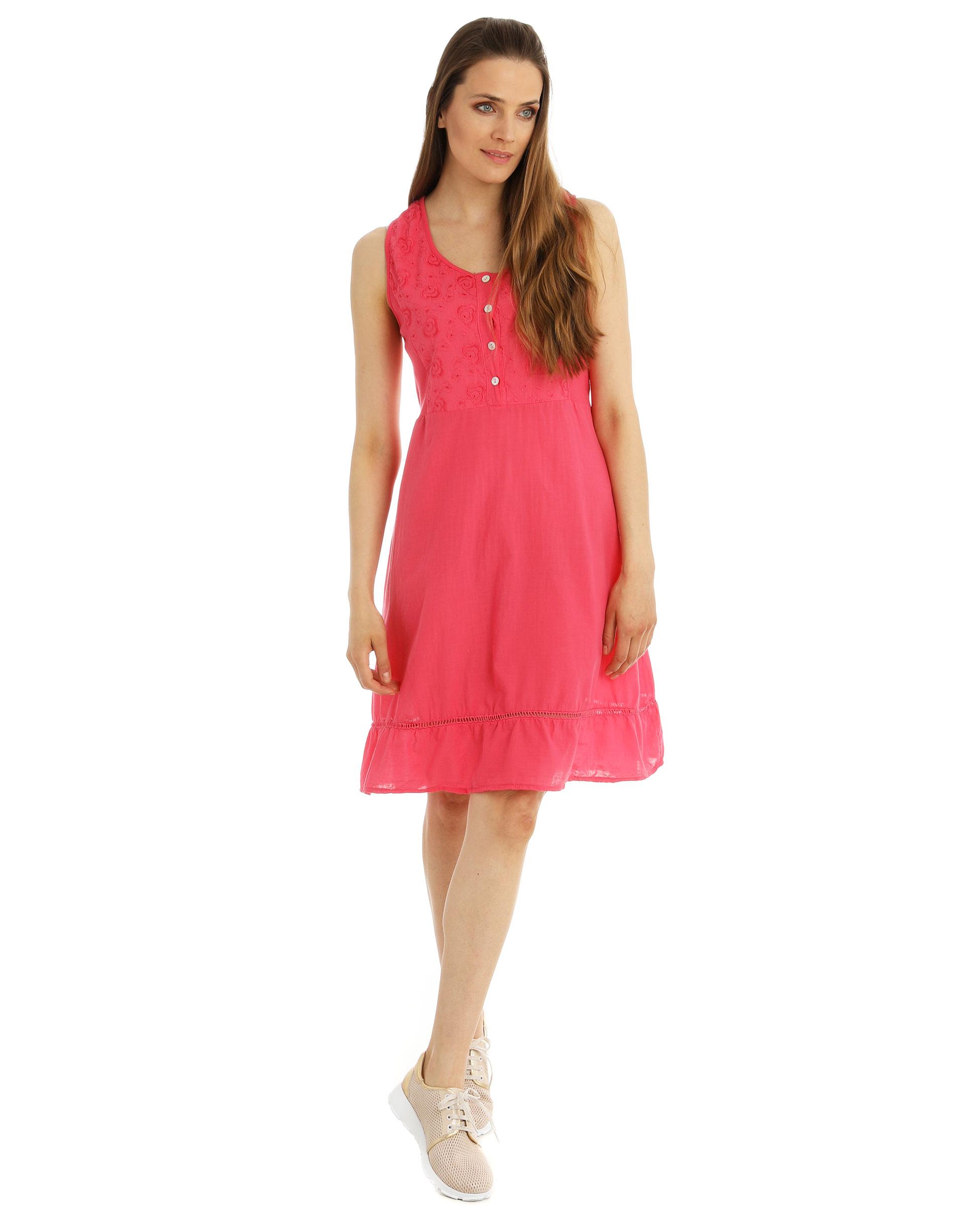 Sukienka - 15-2850 FUXIA - Unisono