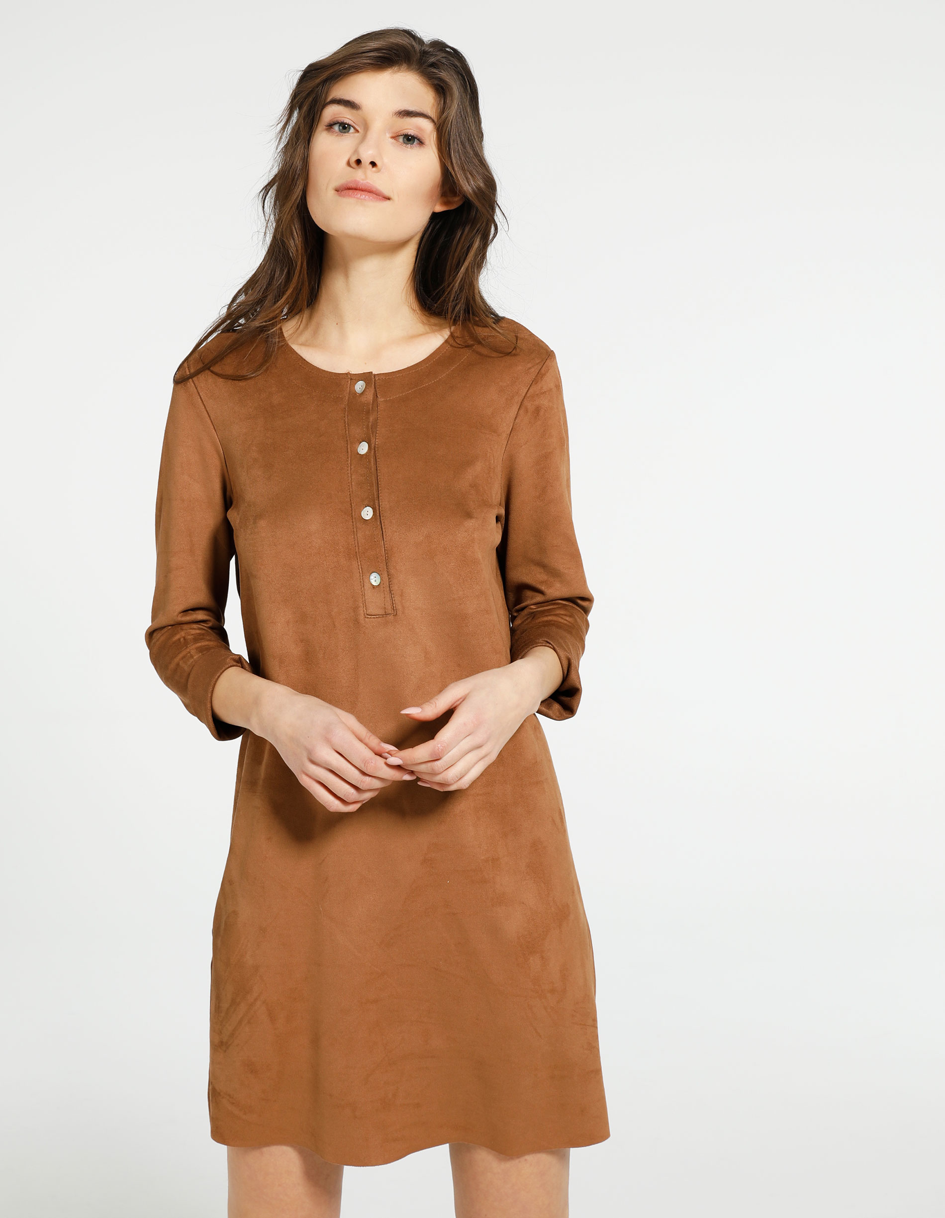 Sukienka - 23603 CUOIO - Unisono