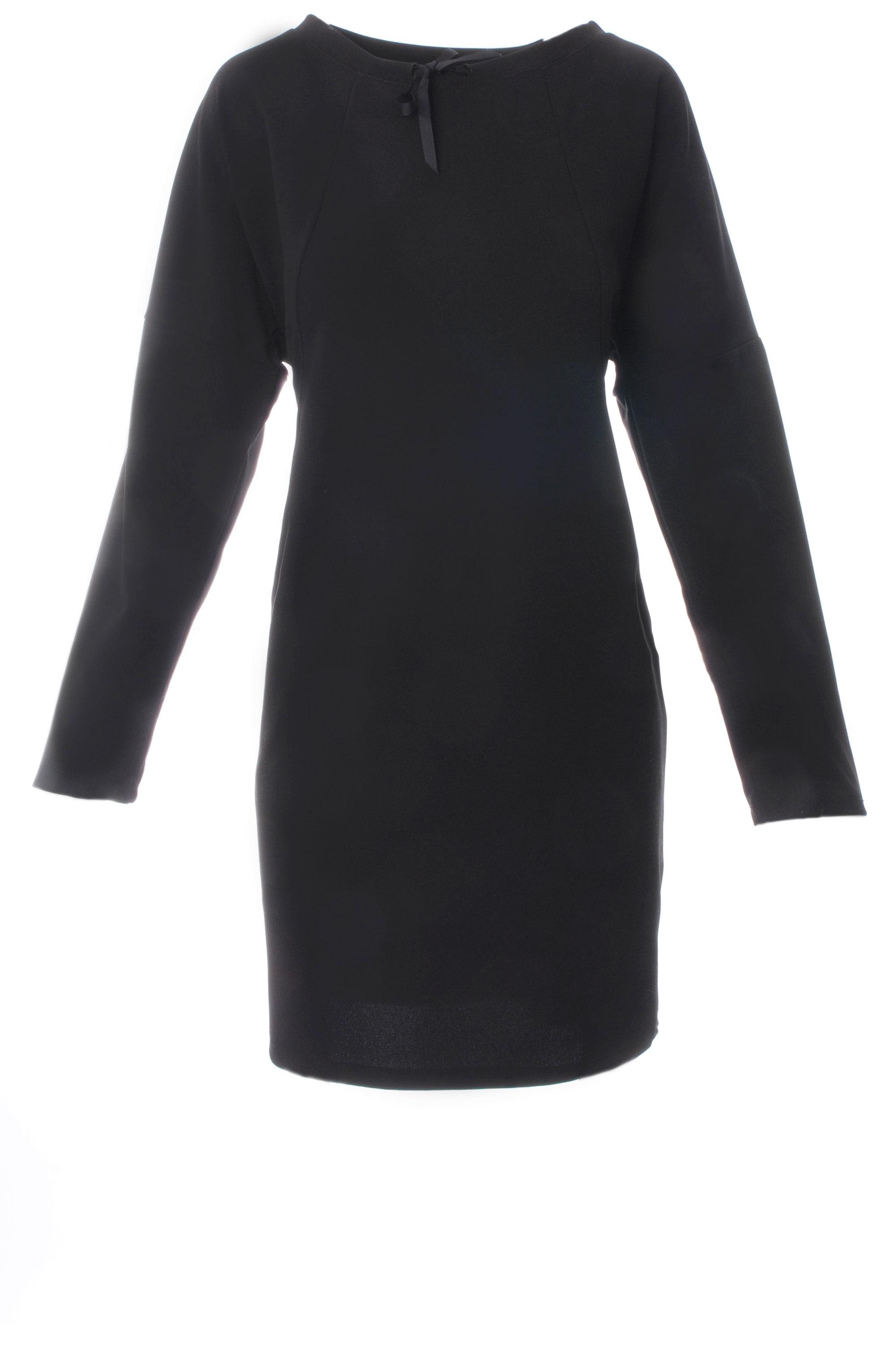 Sukienka - 90-5111 NERO - Unisono