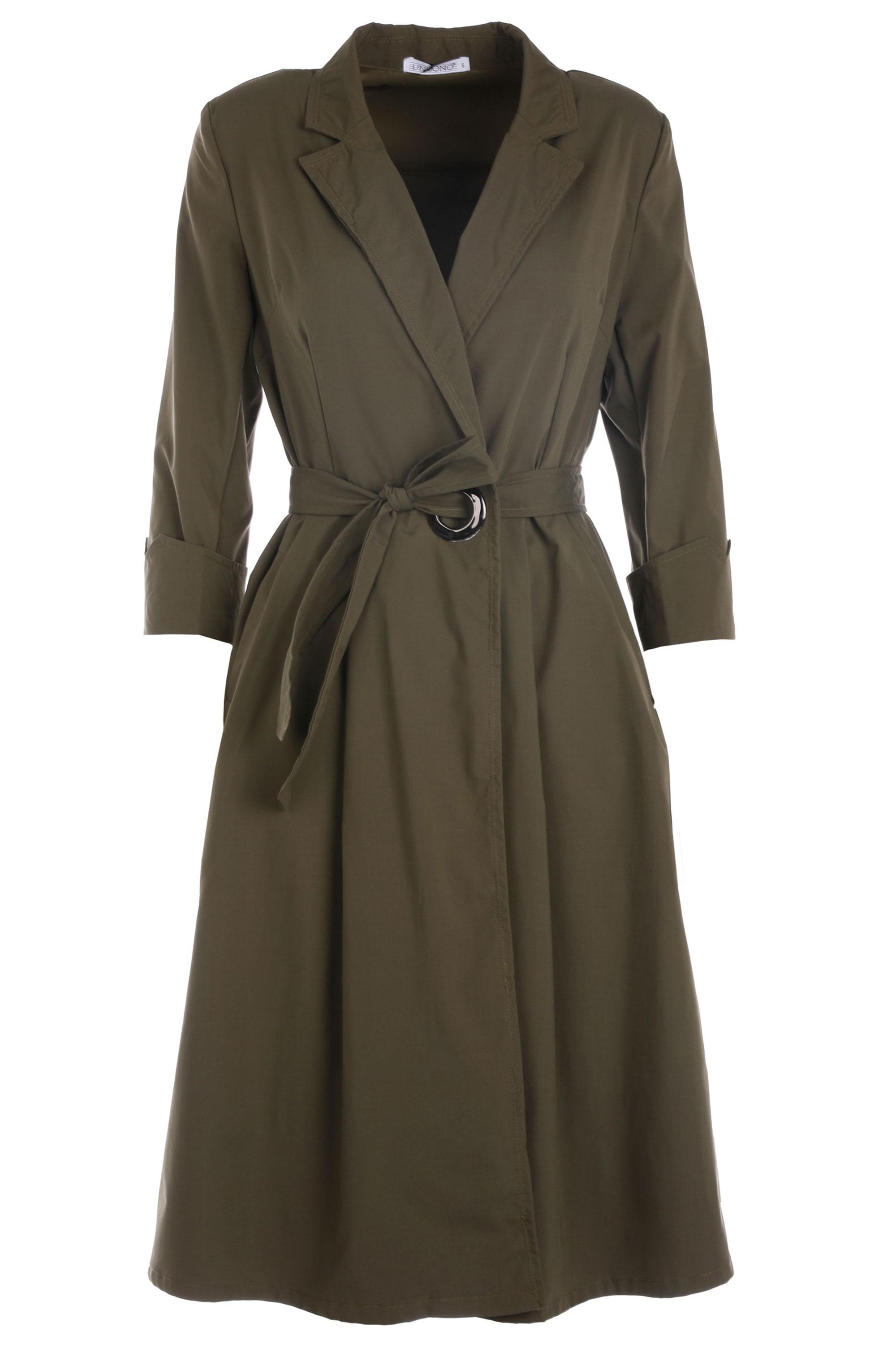 Płaszcz materiałowy - 134-2905 MILI - Unisono