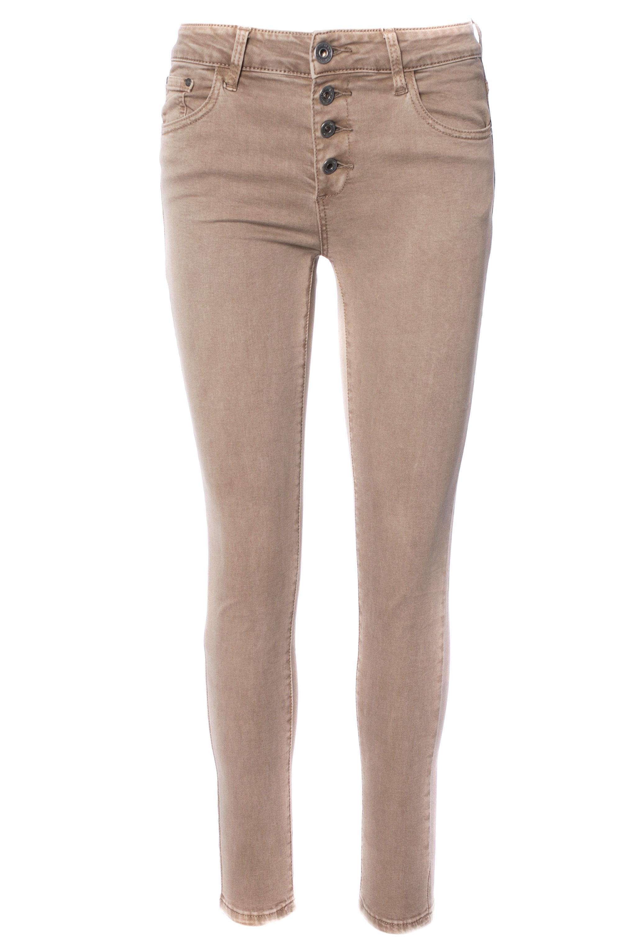 Spodnie - 42-6110 BEIGE - Unisono
