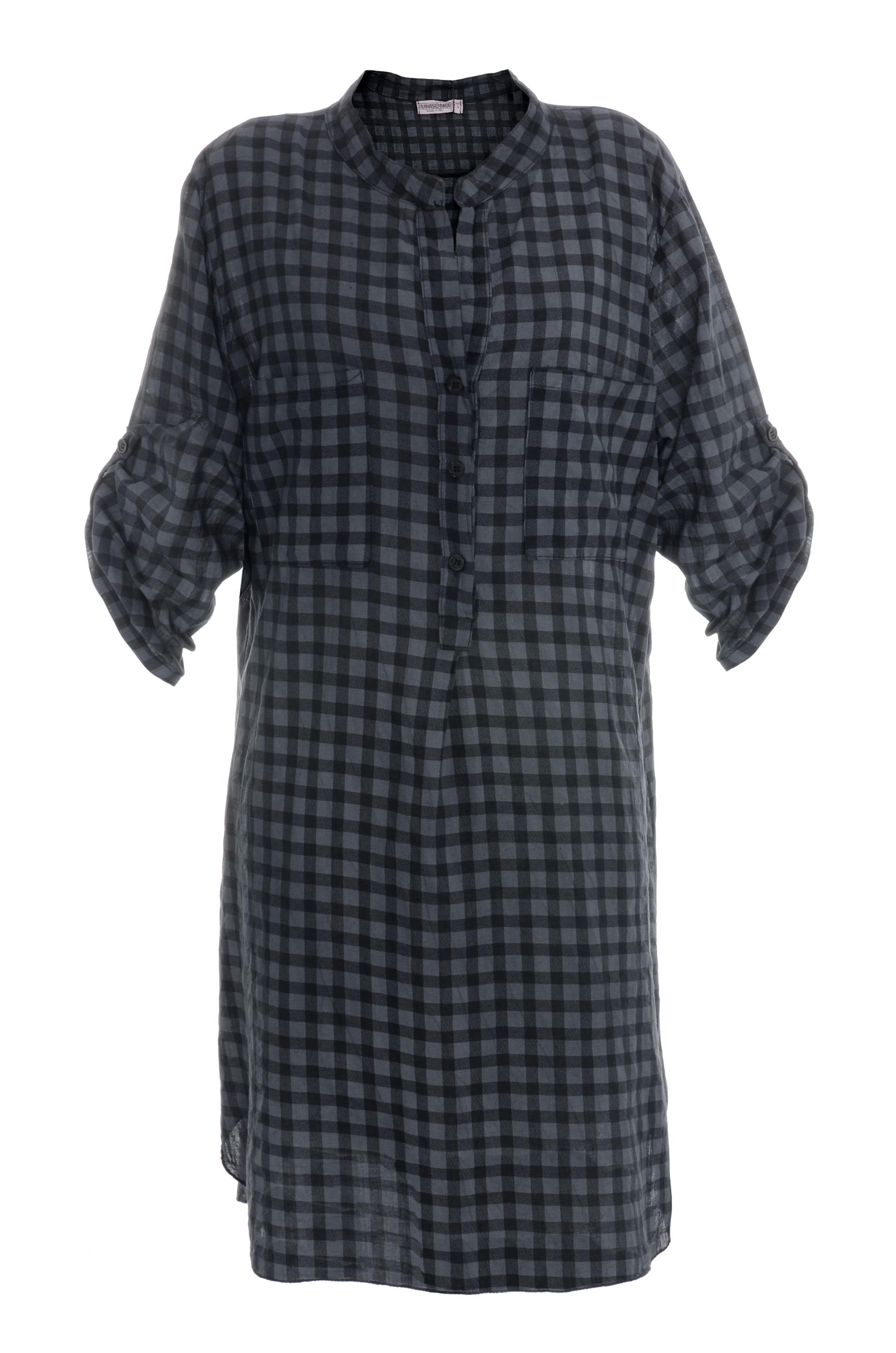 Koszula - 101-1593 NERO - Unisono