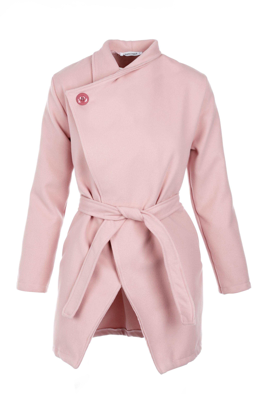 Płaszcz materiałowy - 65-6386 ROSA - Unisono