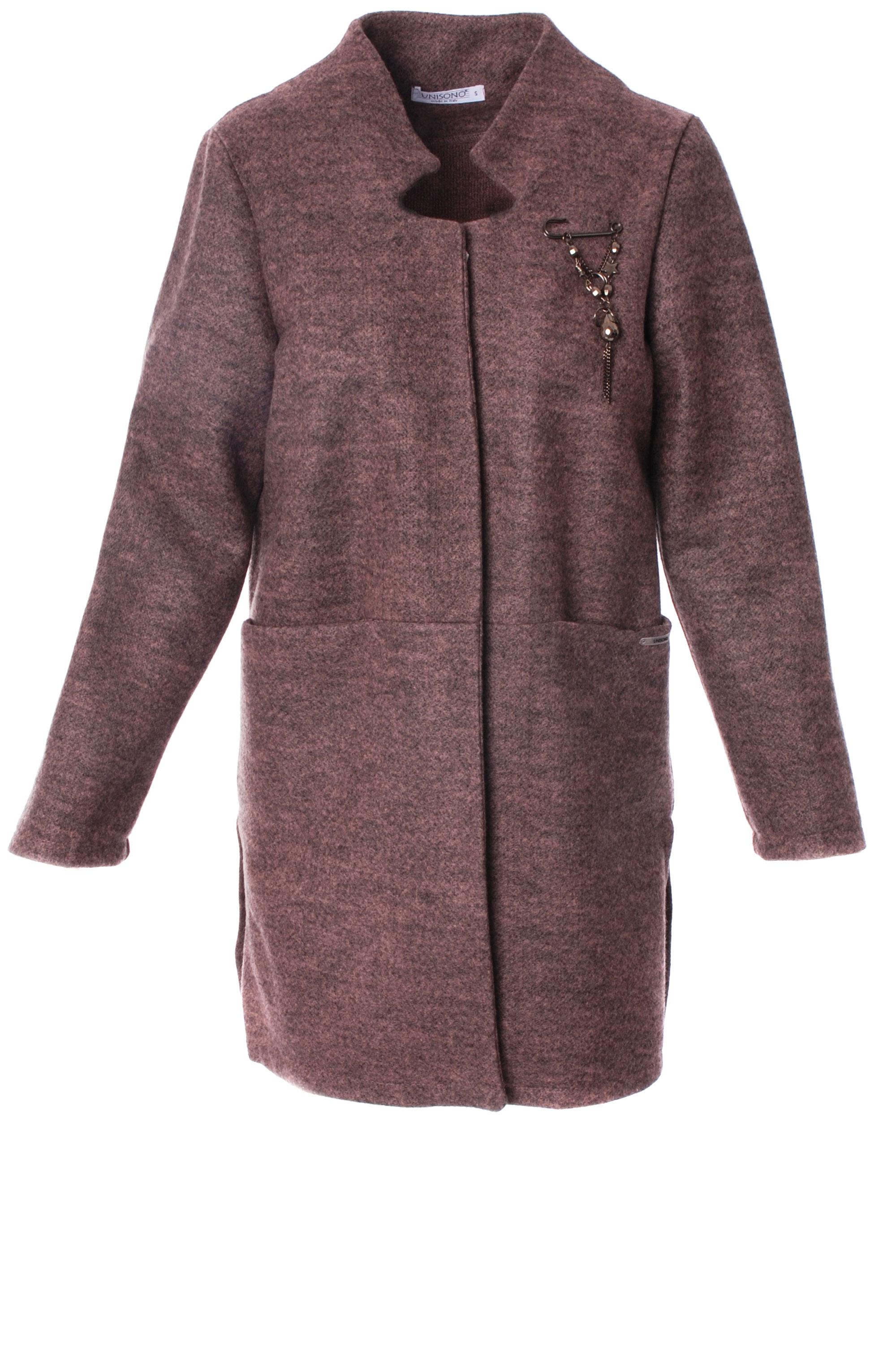 Płaszcz materiałowy - 34-3700 ROSA - Unisono
