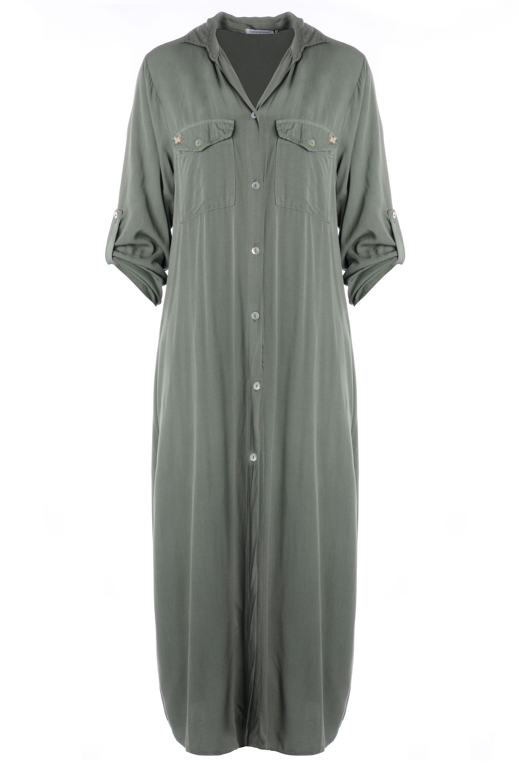 Sukienka - 77-7823 MILIT - Unisono