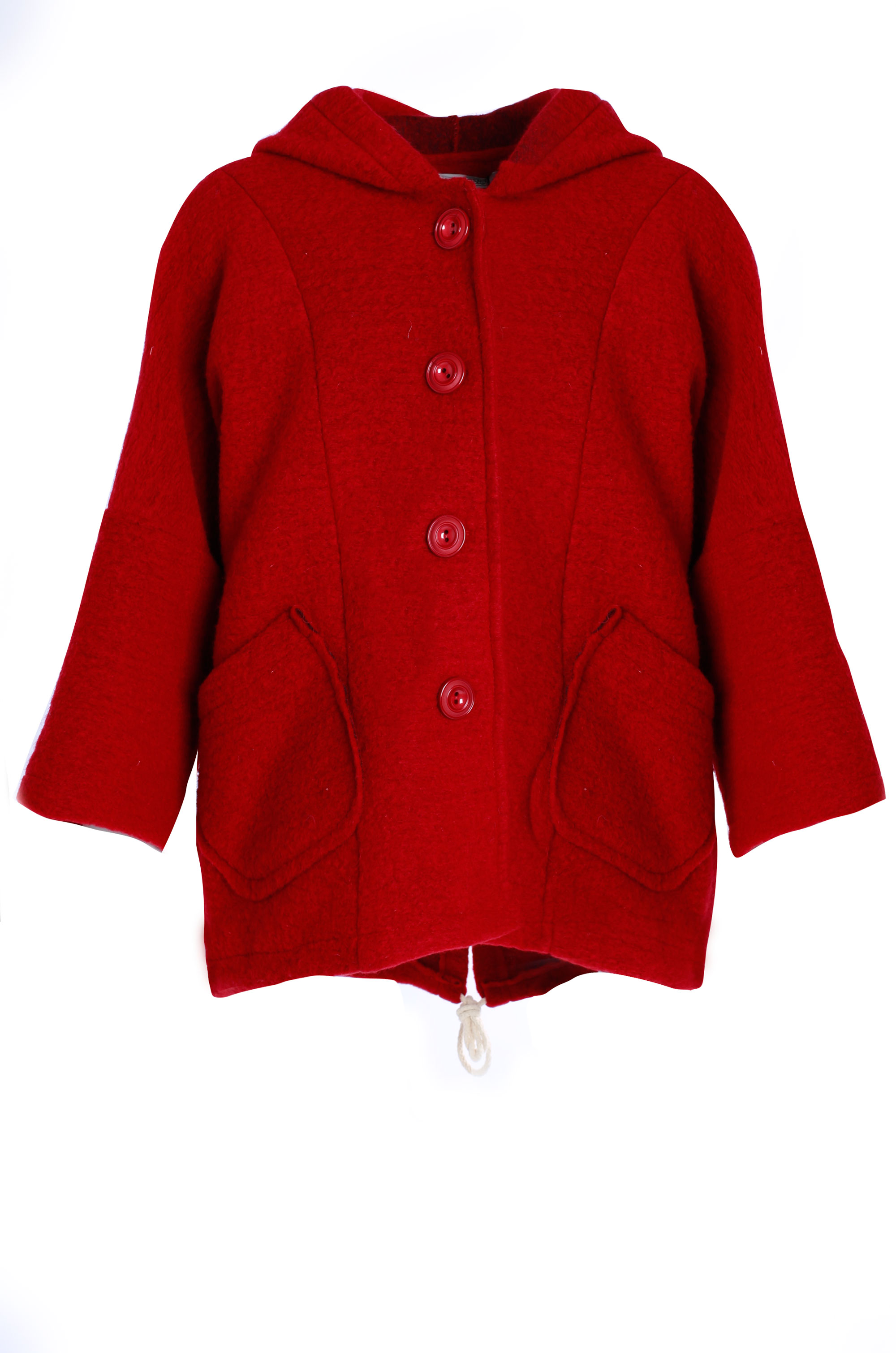 Płaszcz materiałowy - 18-1889 BORDO - Unisono