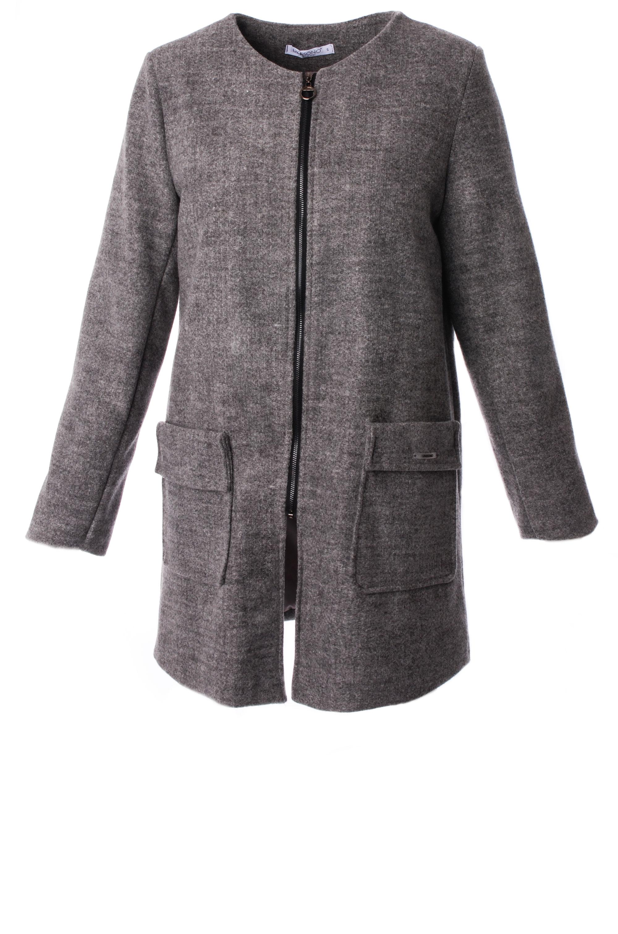Płaszcz materiałowy - 34-3726 GRIGI - Unisono