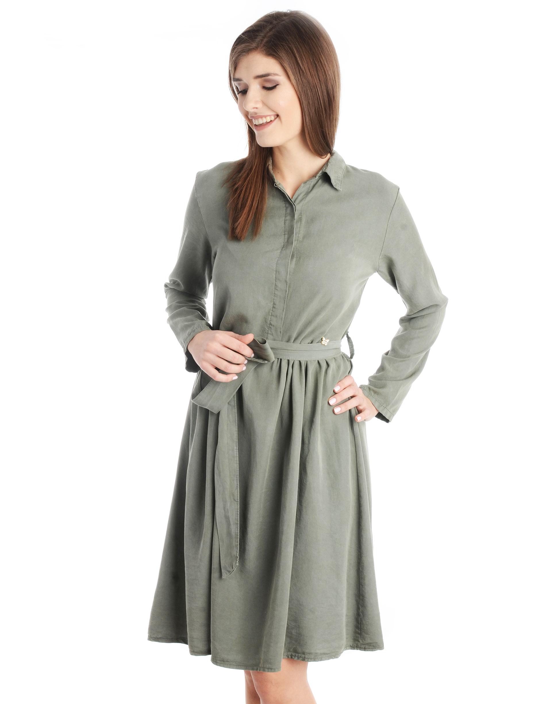 Sukienka - 16-177 MILITA - Unisono