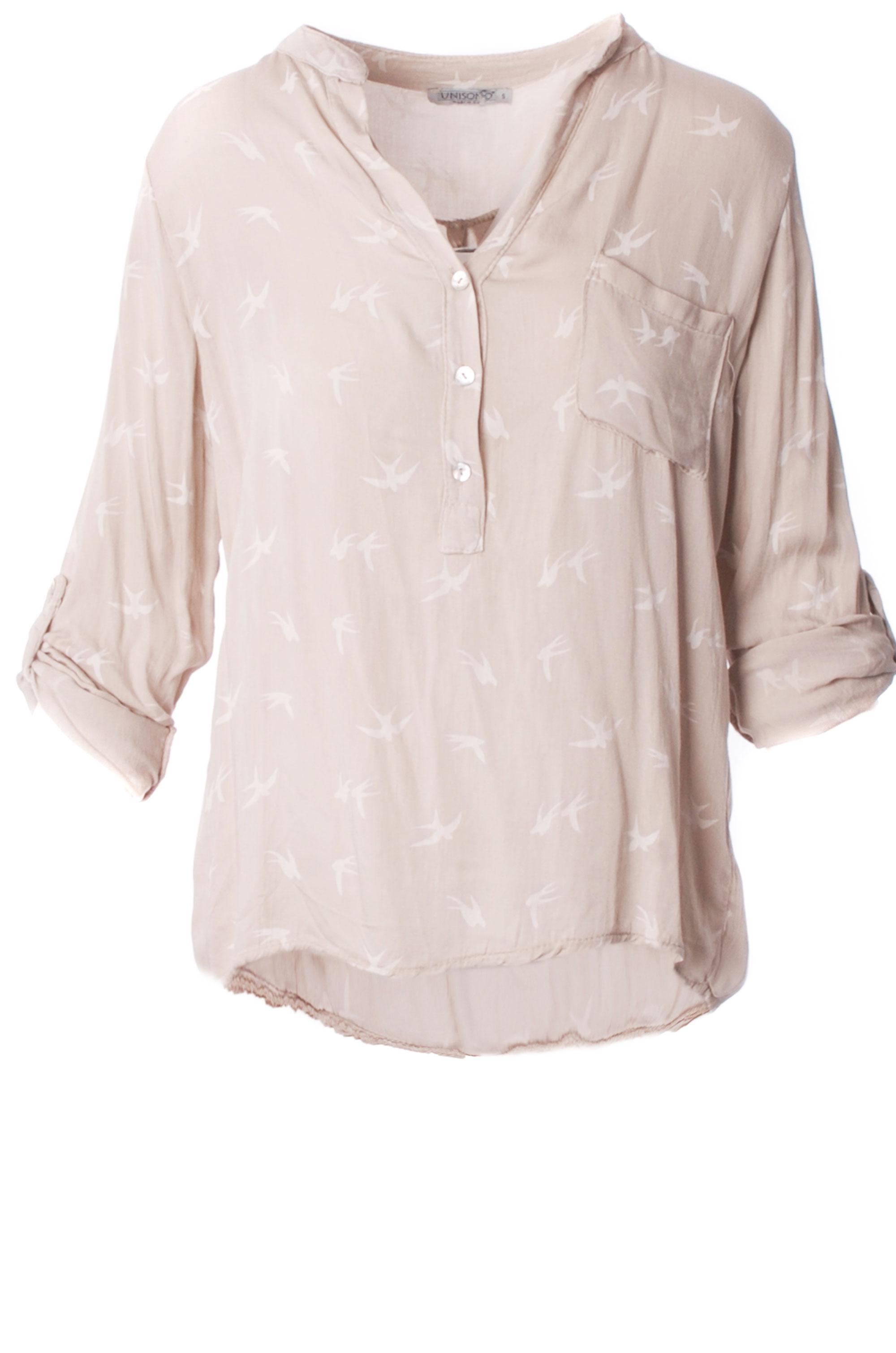 Koszula - 45-8099CR BEI - Unisono
