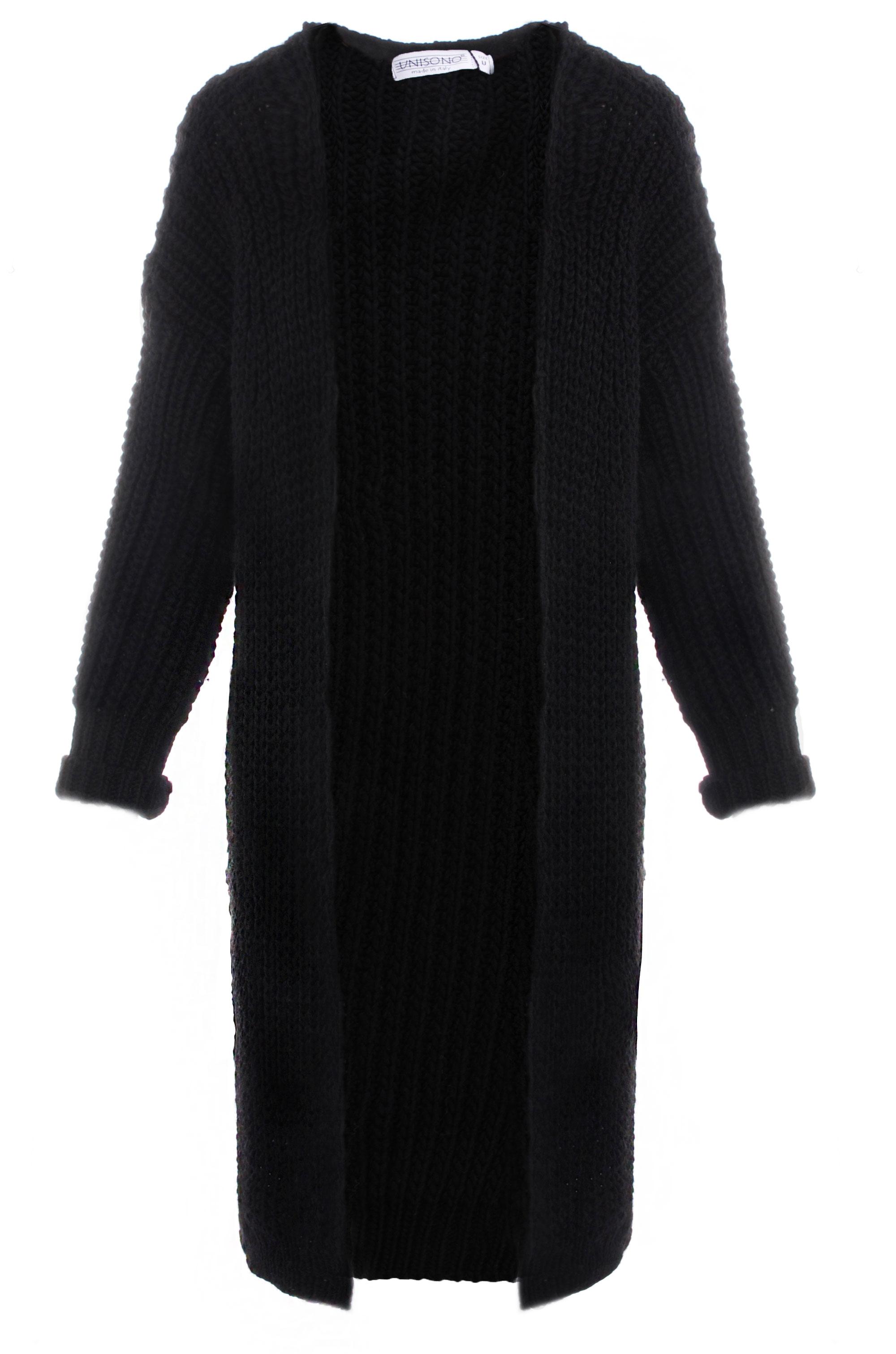 Sweter - 67-15654 NERO - Unisono